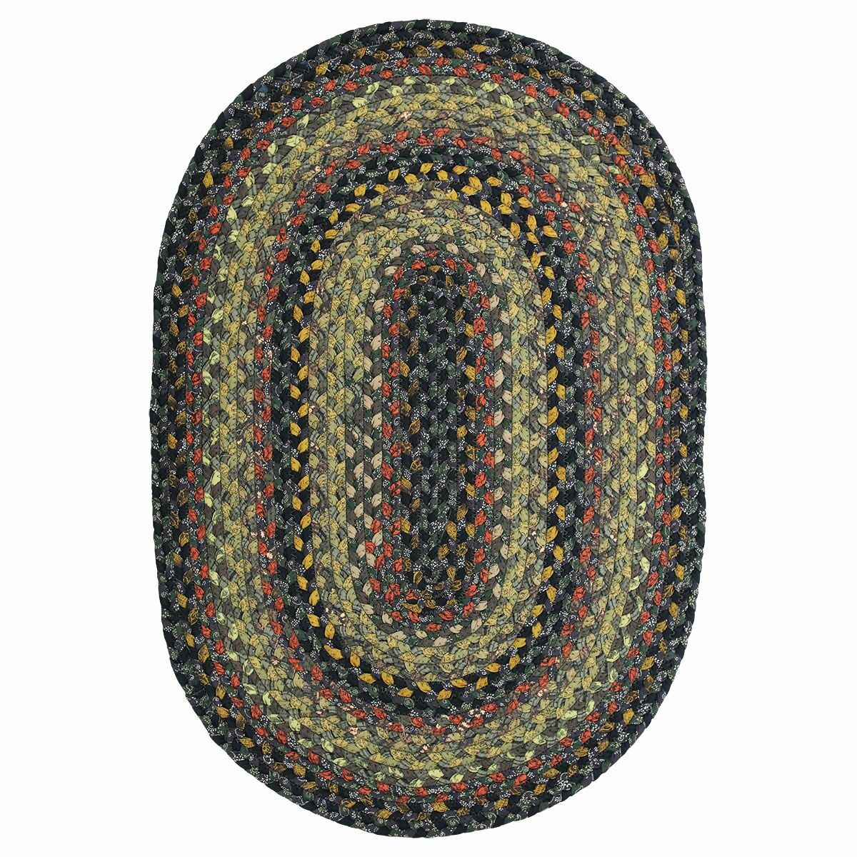 Cotton Braided Enigma Brown Area Rug Rug Size: Rectangle 6' x 9'