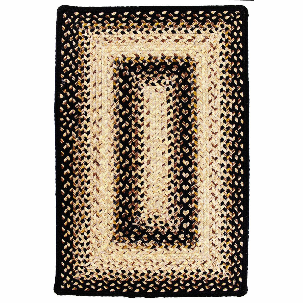 Ultra-Durable Black Mist Indoor/Outdoor Rug Rug Size: Rectangle 4' x 6'