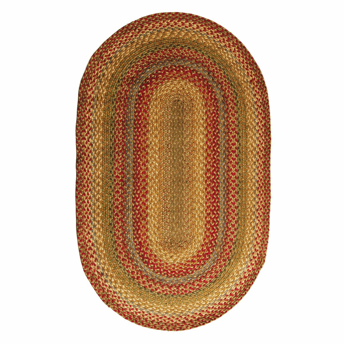 Doucoure Area Rug Rug Size: Oval 6' x 9'