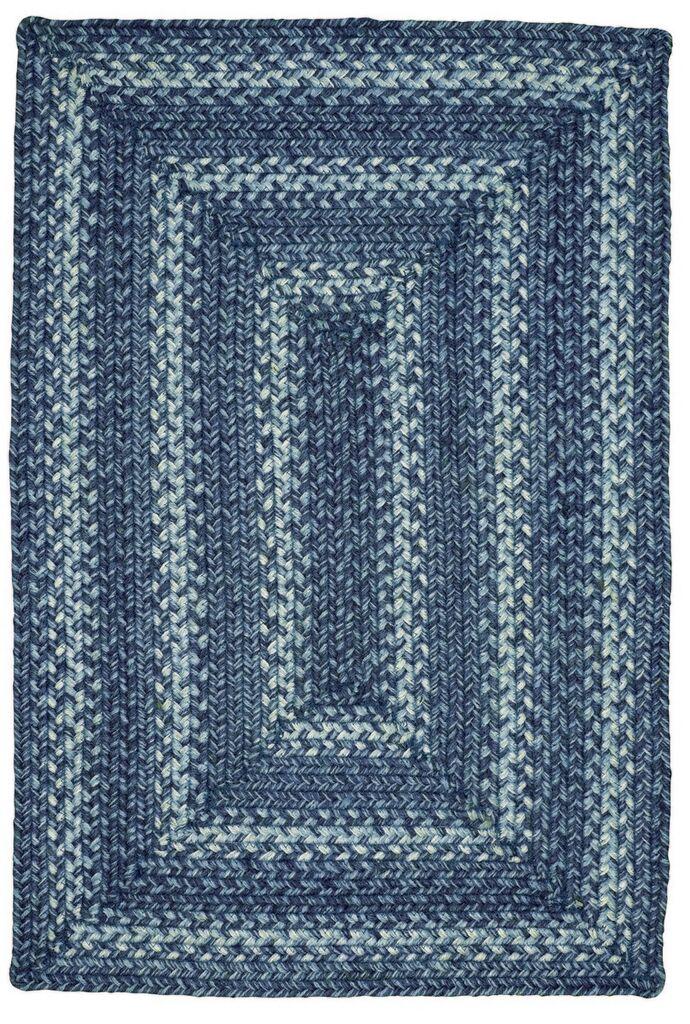 Denim Jute Blue Area Rug Rug Size: Runner 2'6