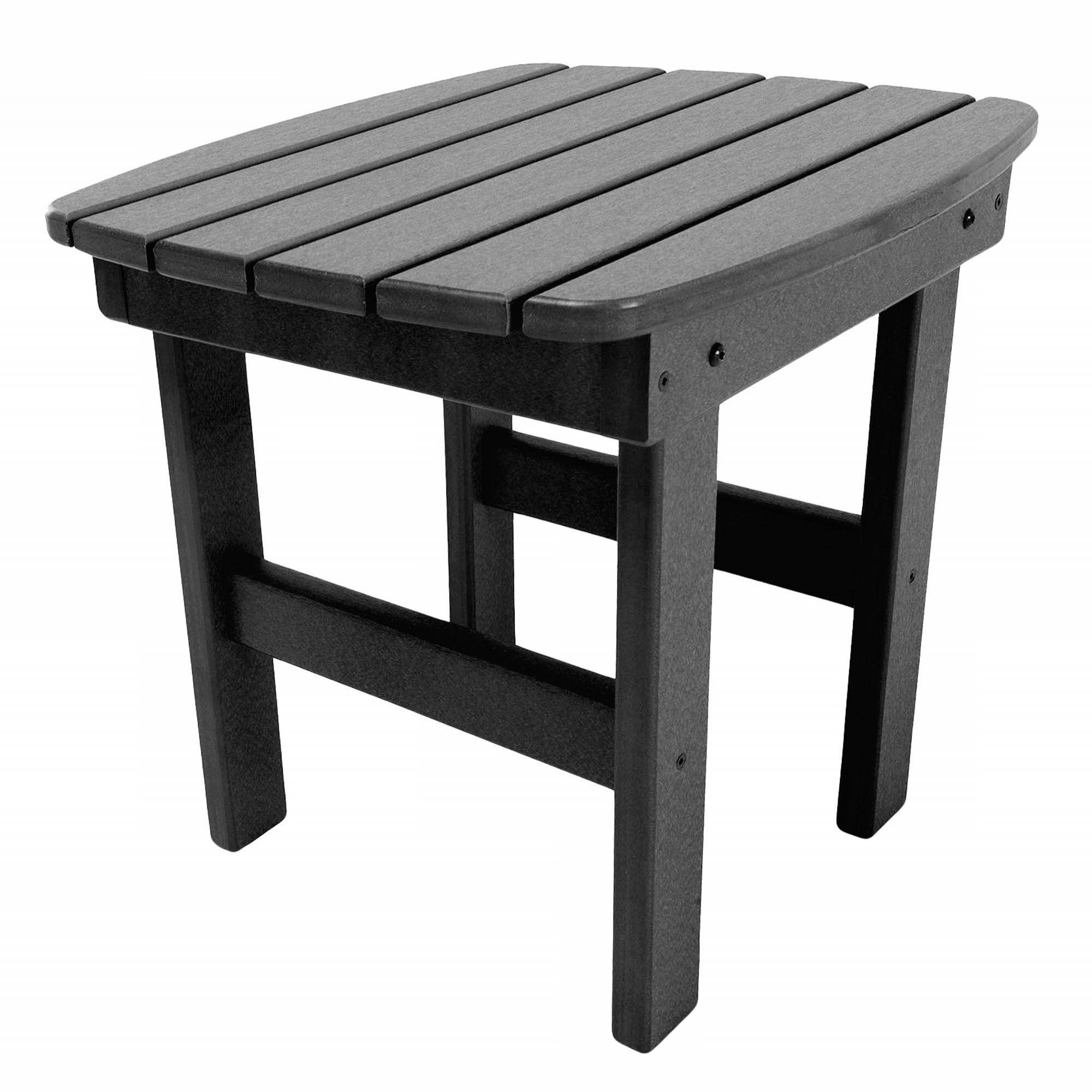 Jaune Side Table Finish: Black
