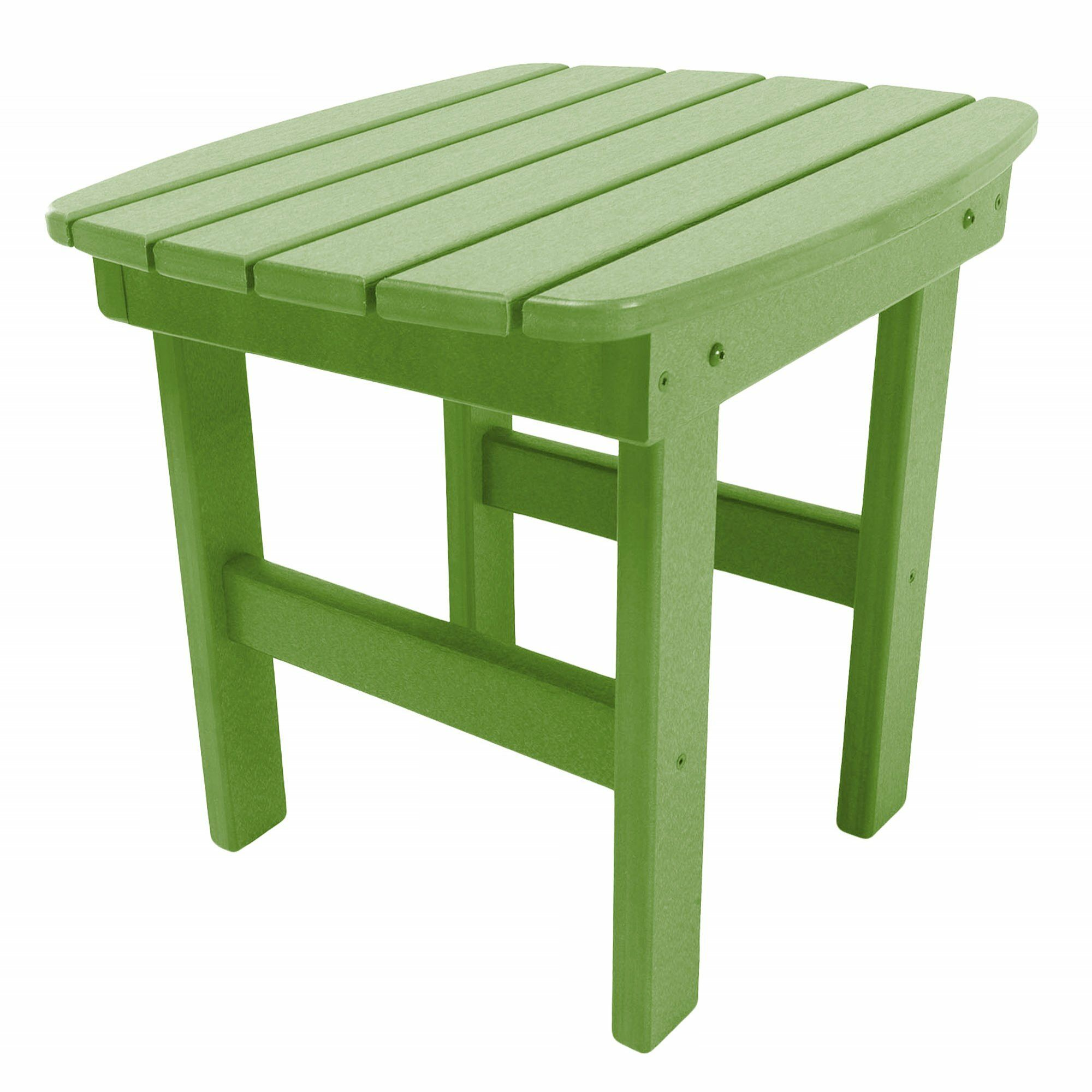 Jaune Side Table Finish: Lime