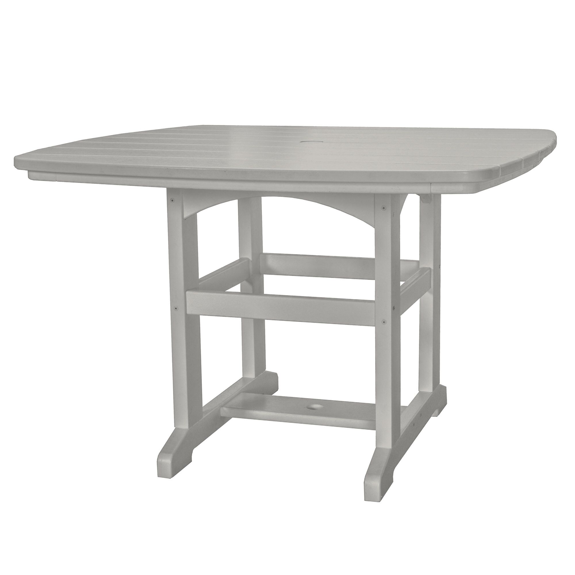 Yeager Dining Table Finish: Gray