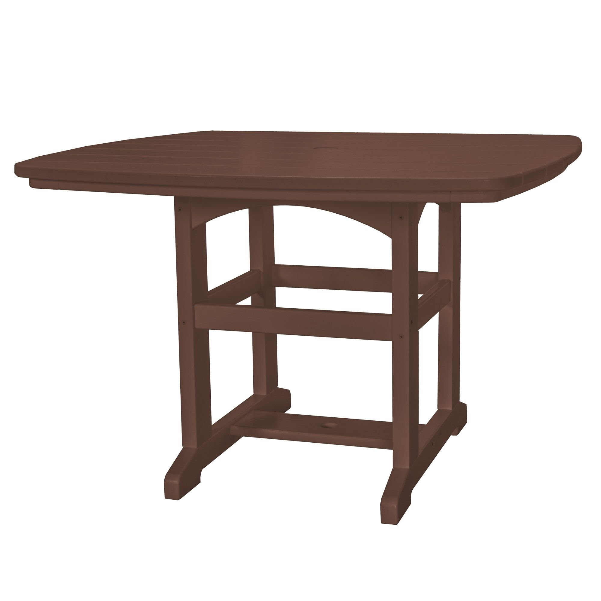 Yeager Dining Table Finish: Chocolate