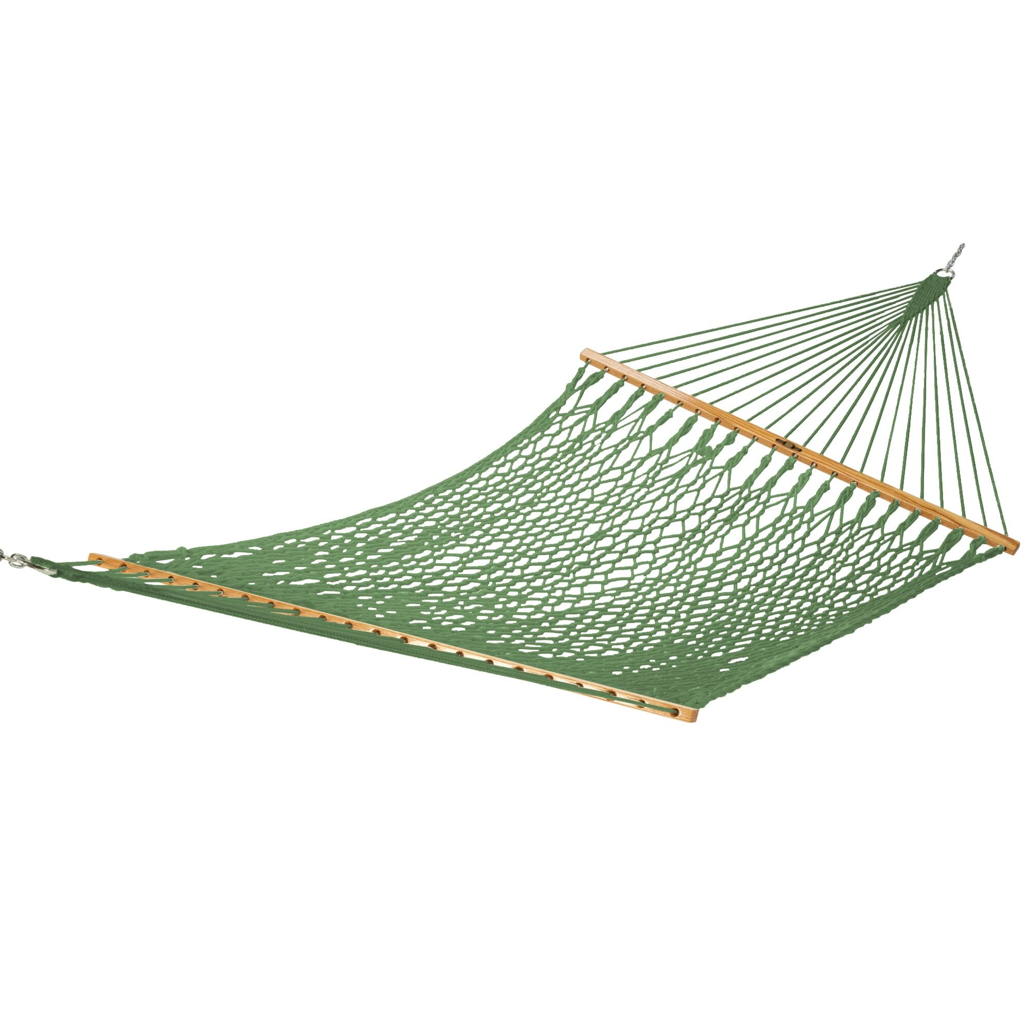 Edmonds Large Original DuraCord Rope Tree Hammock Color: Meadow, Size: 180