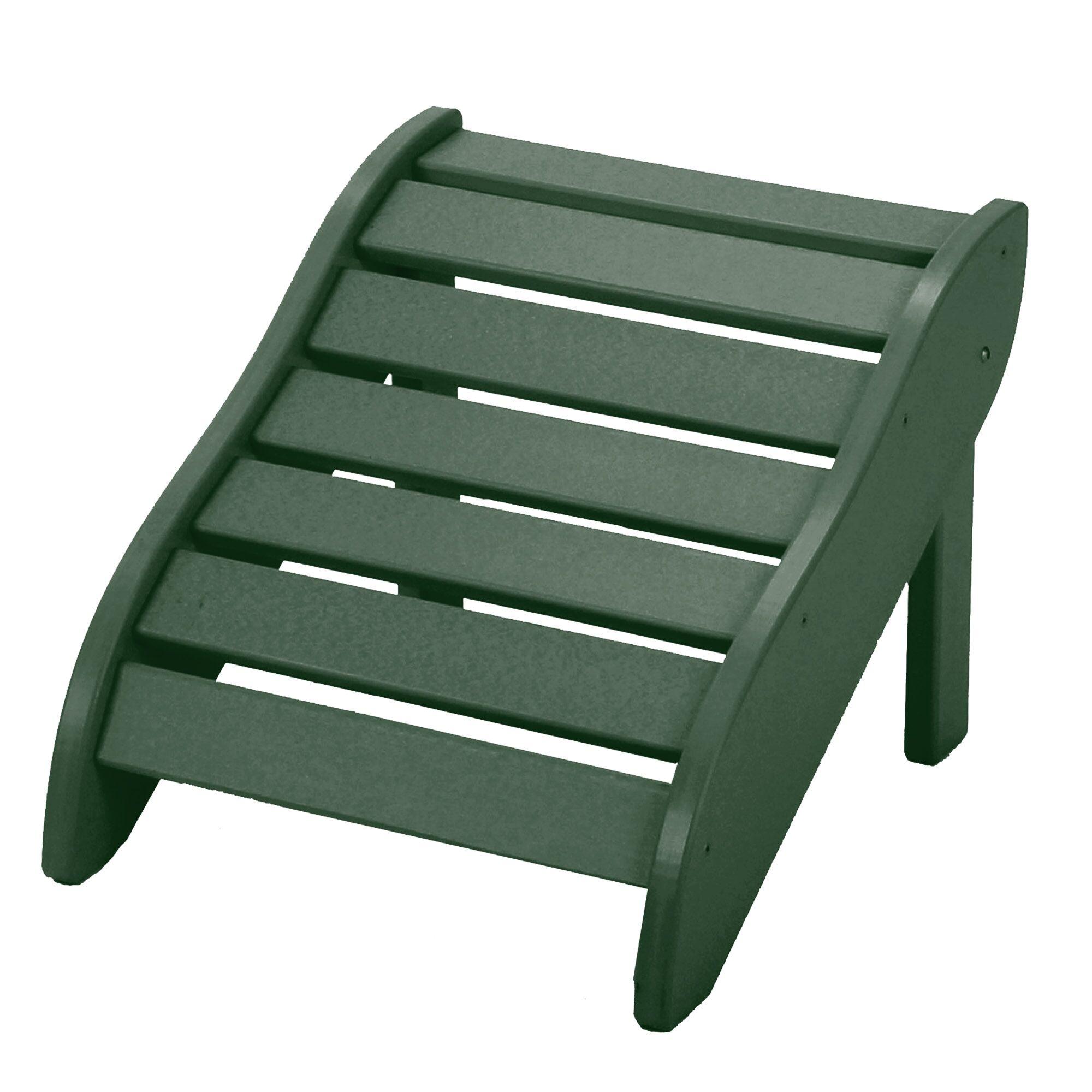 Edgin Foot Rest Color: Pawleys Green