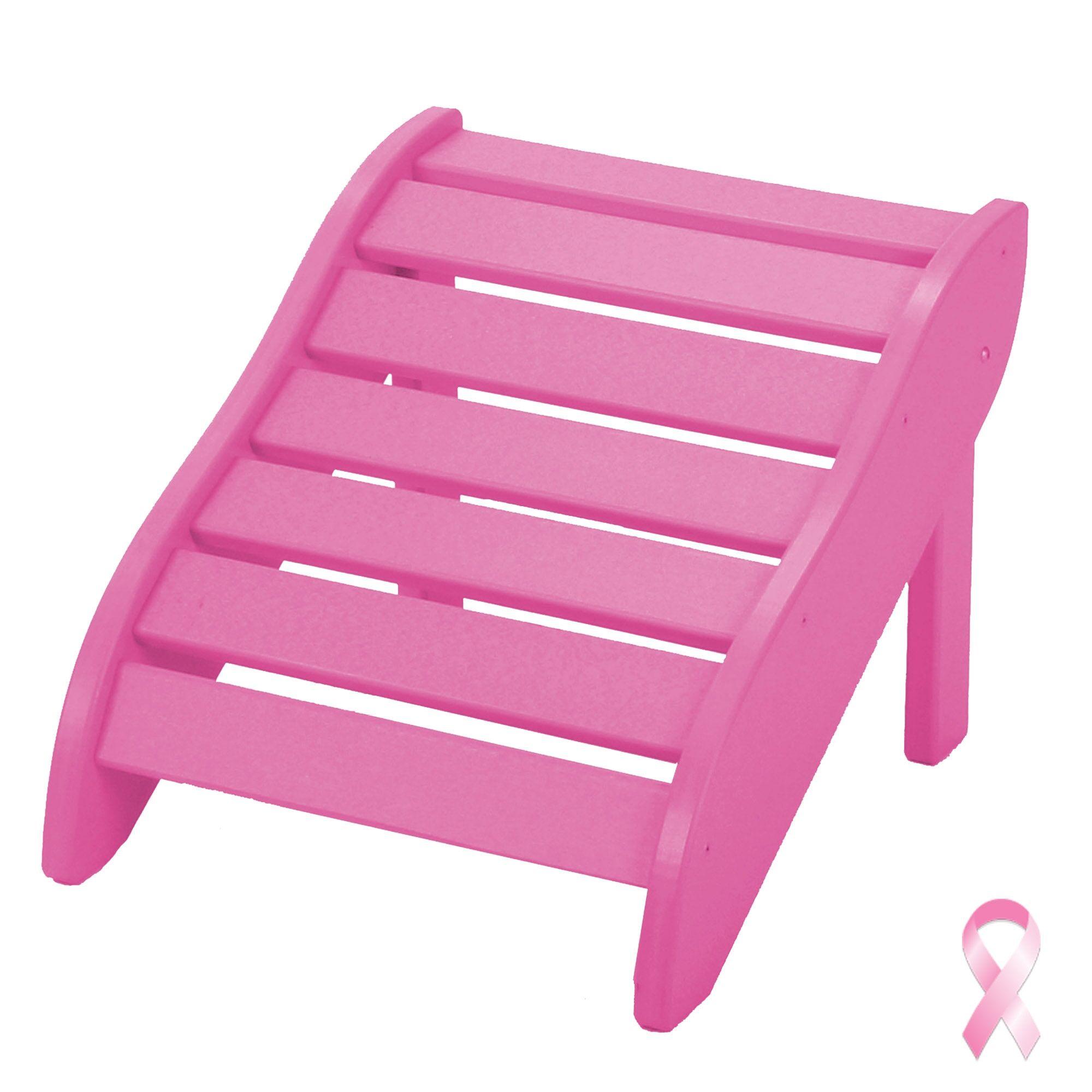 Edgin Foot Rest Color: Pink