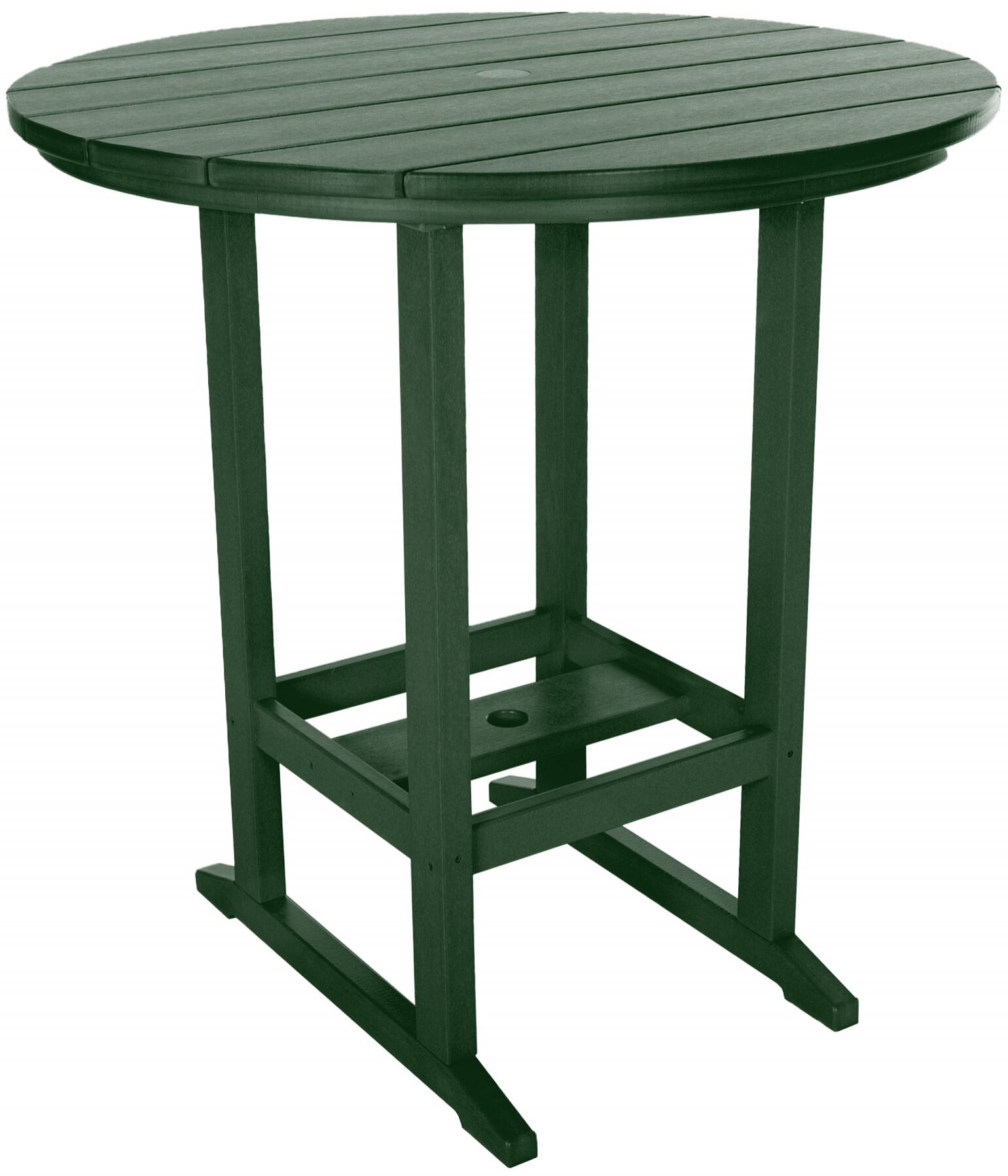 Yeager Dining Table Color: Pawleys Green
