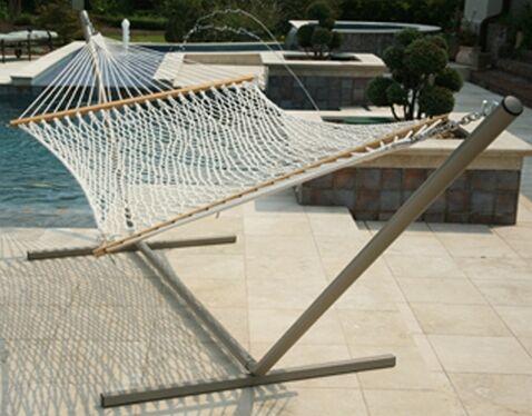 Edmiston Polyester Rope Hammock Size: Large