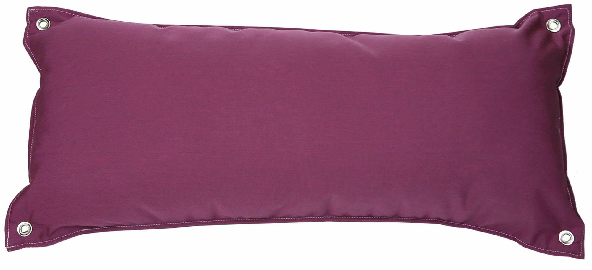 Edney Traditional Hammock Pillow Color: Canvas Iris