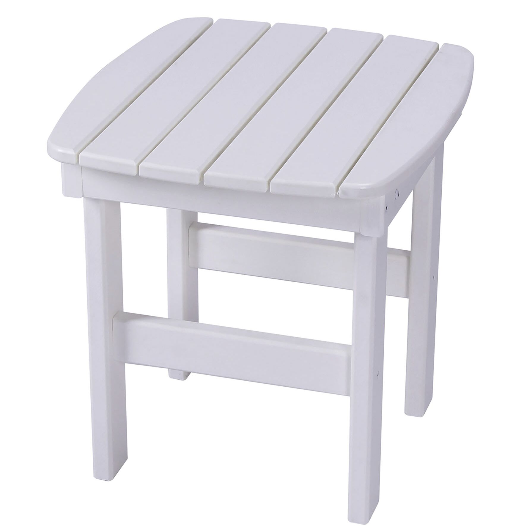 Jaune Side Table Finish: White