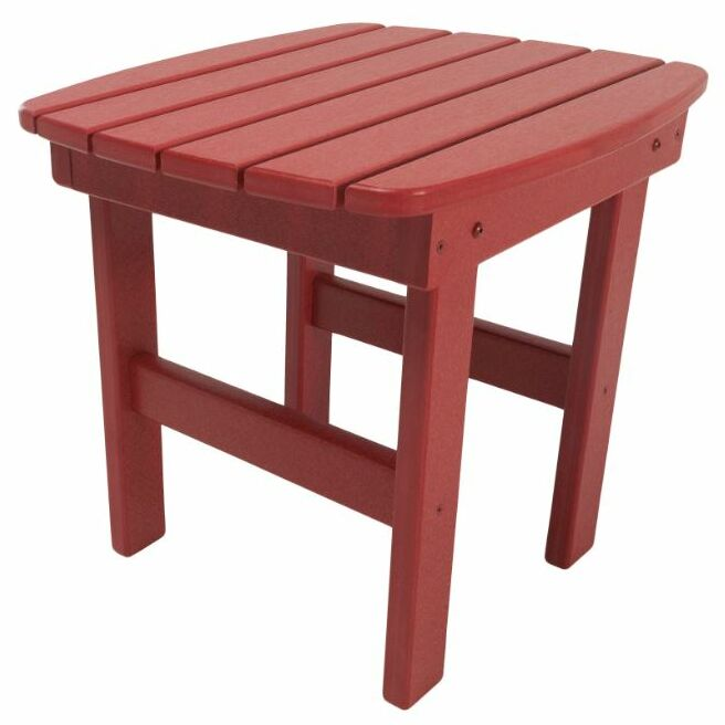 Jaune Side Table Finish: Red