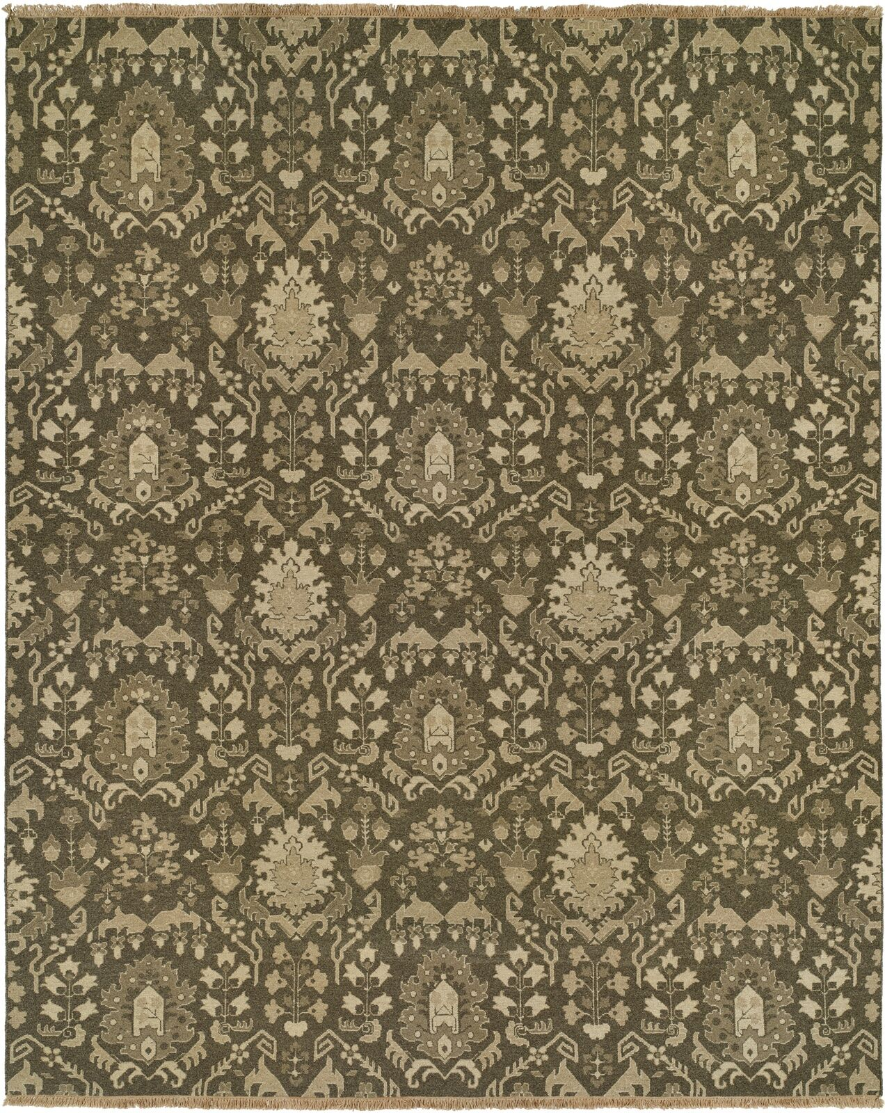 Timaru Light Brown Area Rug Rug Size: Rectangle 4' x 6'