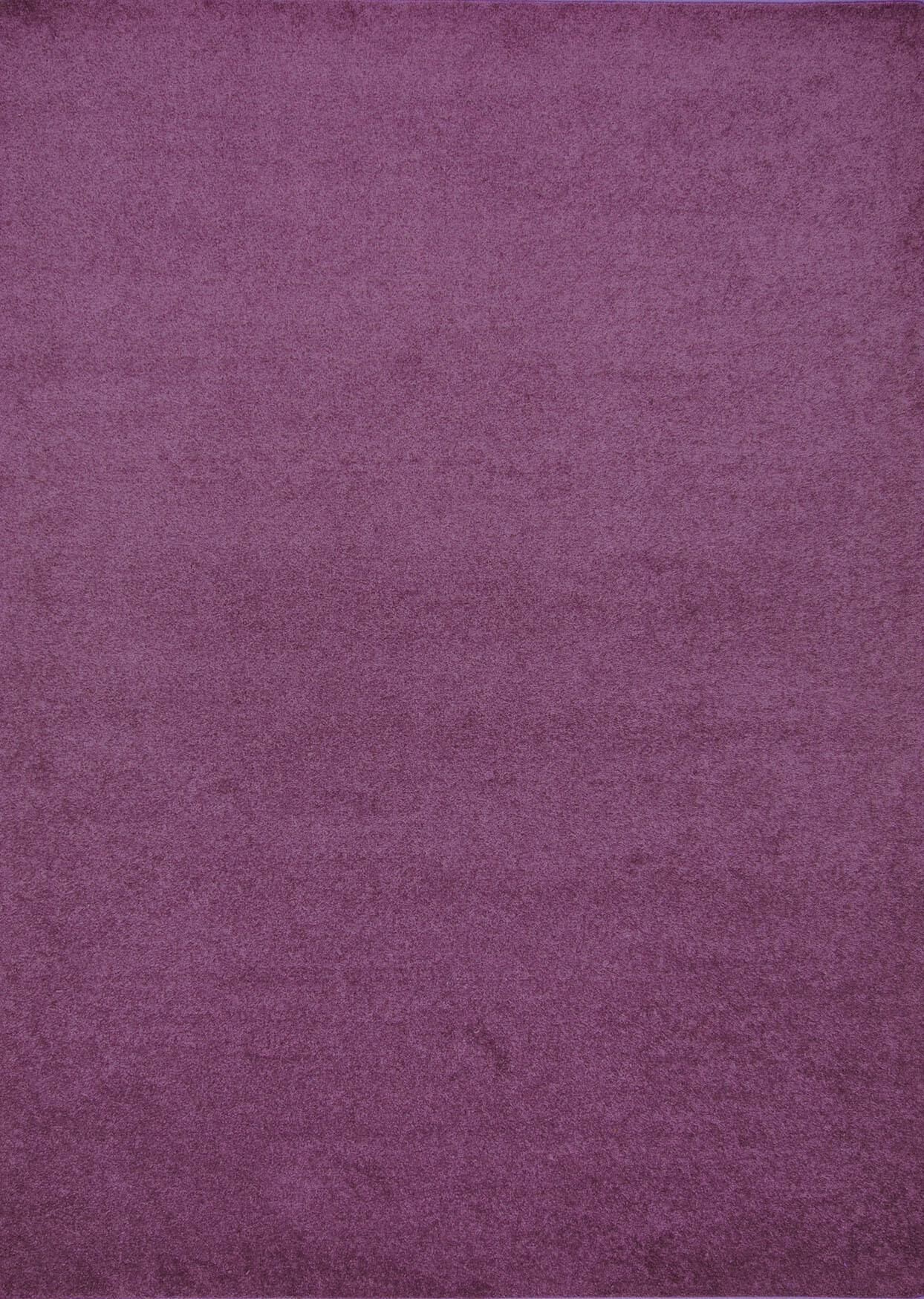 Henley Hand-Tufted Purple Area Rug Rug Size: 9' x 12'
