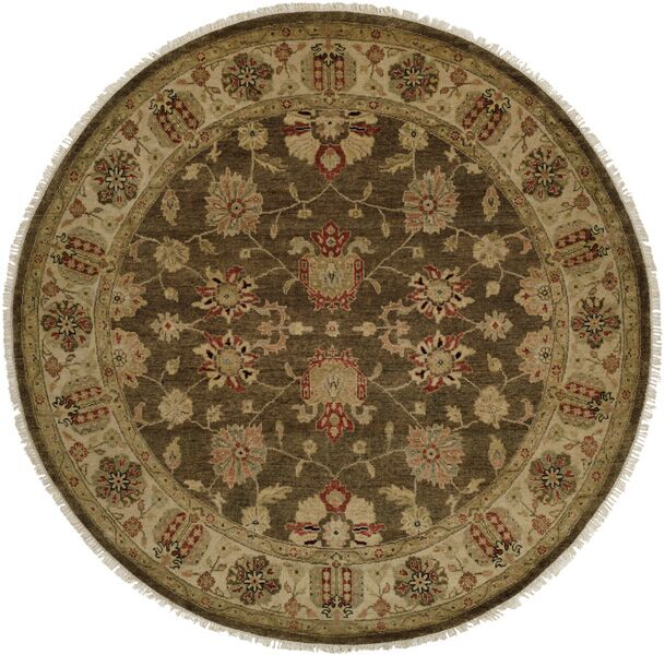 Caldera Hand-Knotted Beige/Brown Area Rug Rug Size: Rectangle 10' x 14'