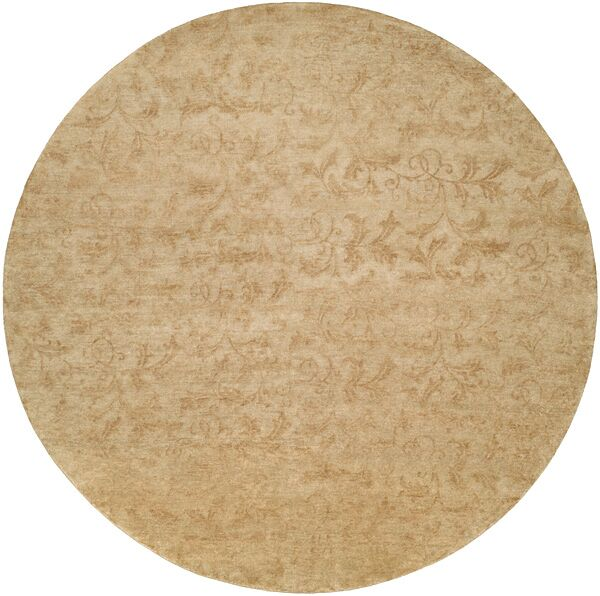 Nome Hand-Knotted Beige Area Rug Rug Size: Rectangle 8' x 10'