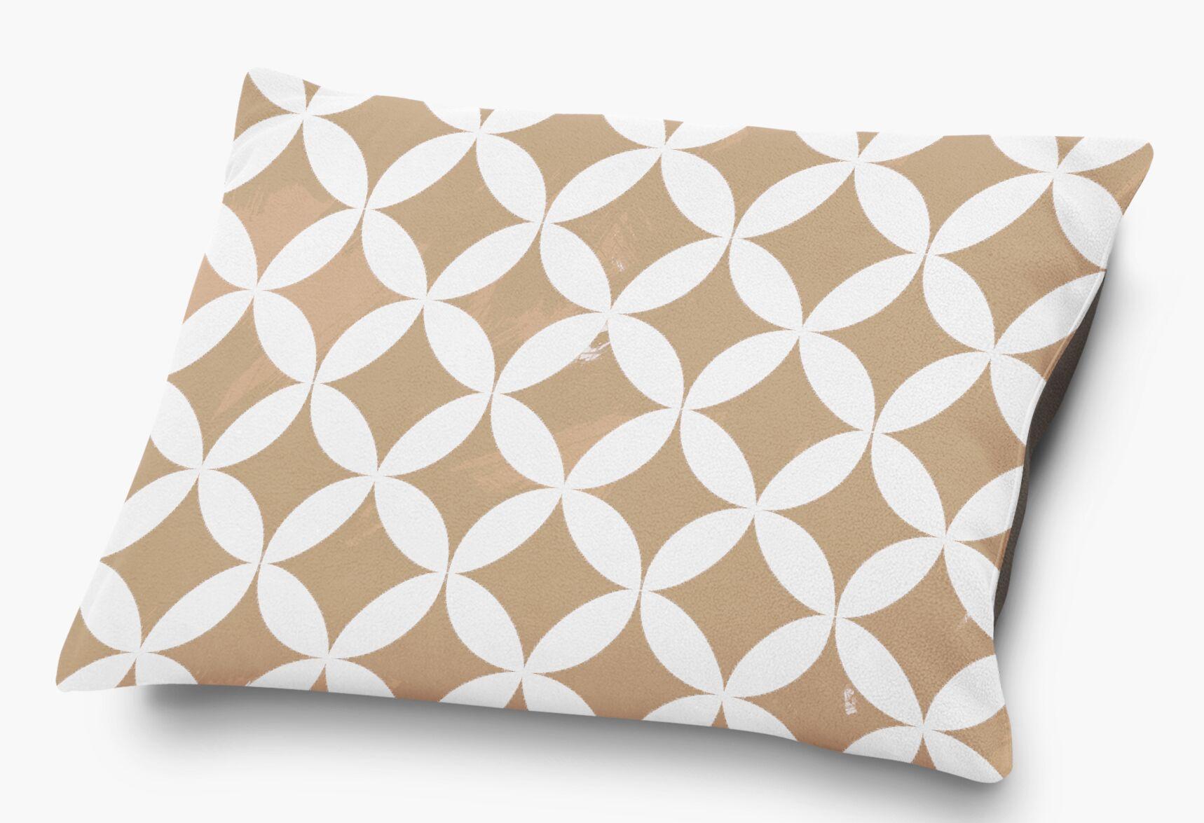 Persephone Pet Pillow with Super Plush Poly Top Color: Orange
