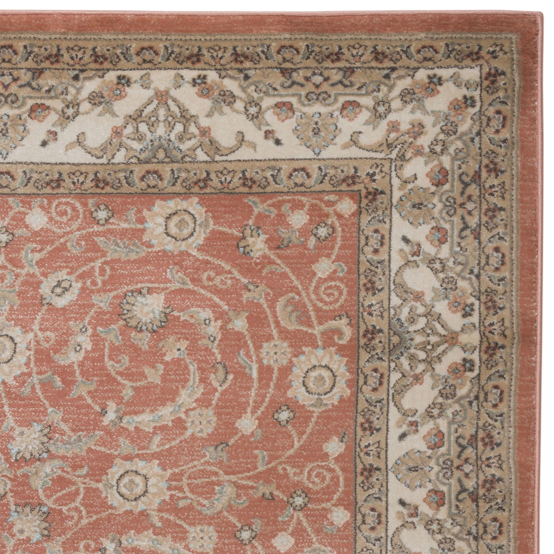 Garda Red Area Rug Rug Size: Rectangle 7'10