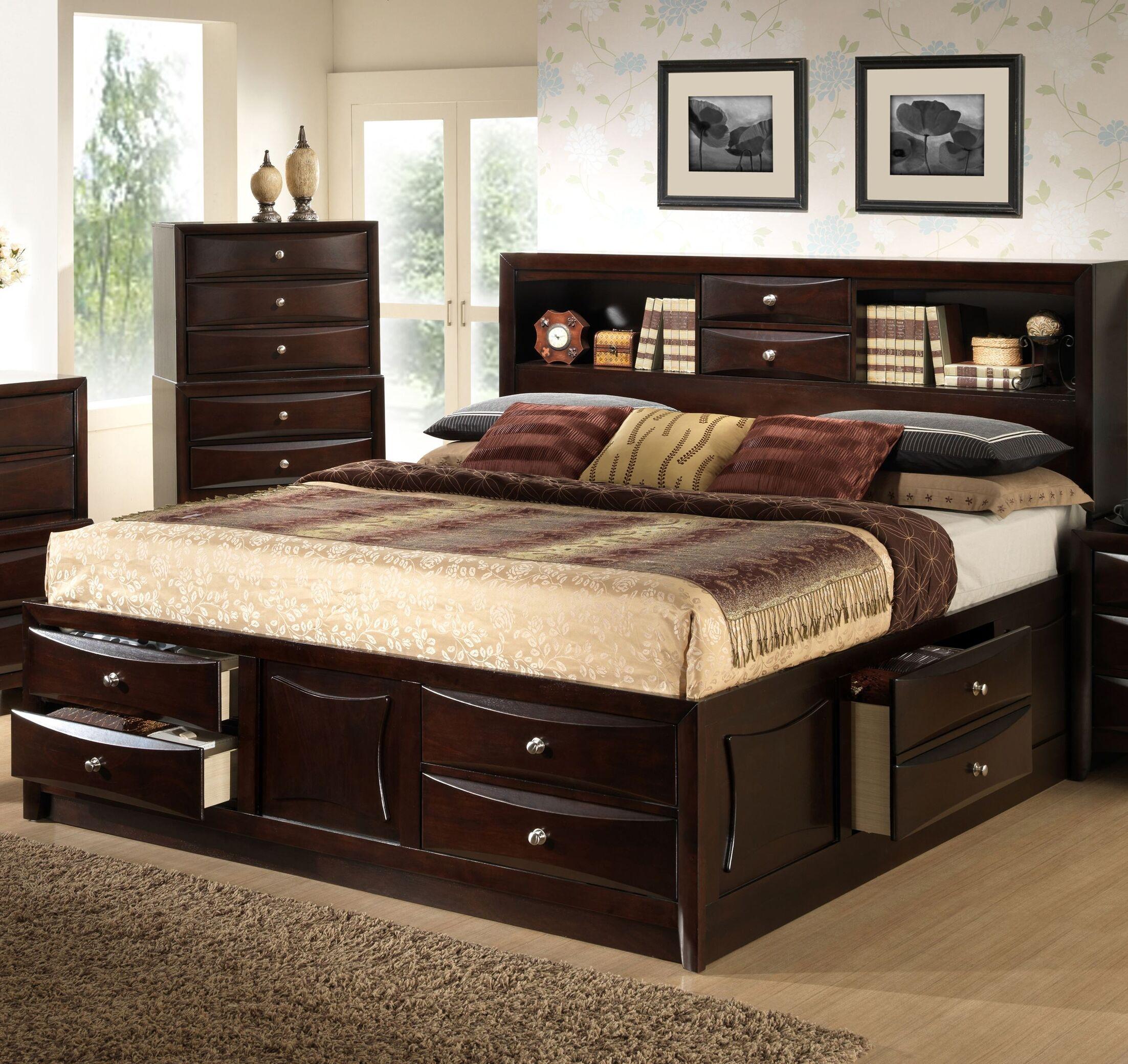 Raffin Storage Platform Bed Size: Queen