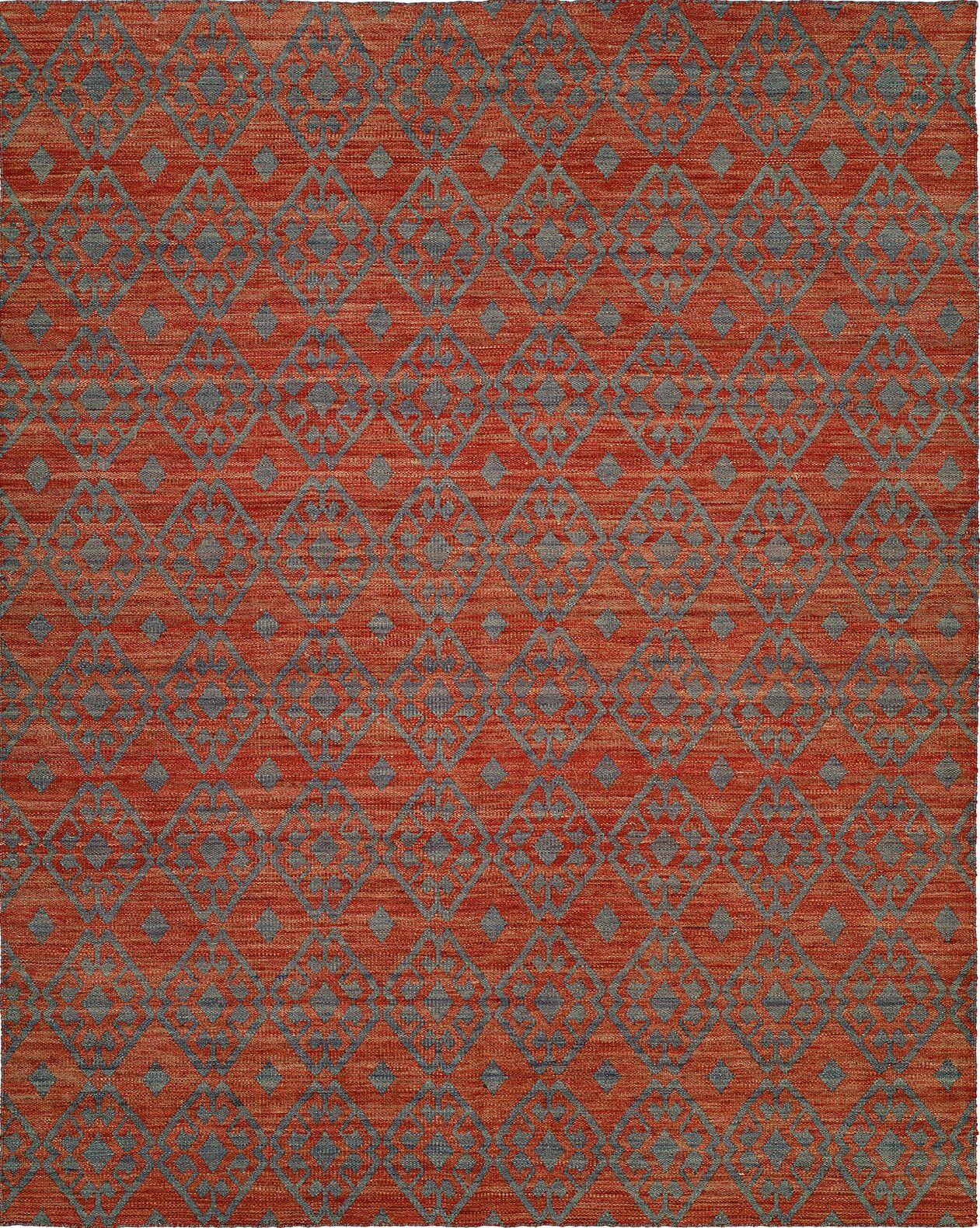 Hand-Woven Brown/Gray Area Rug Rug Size: 5' x 8'