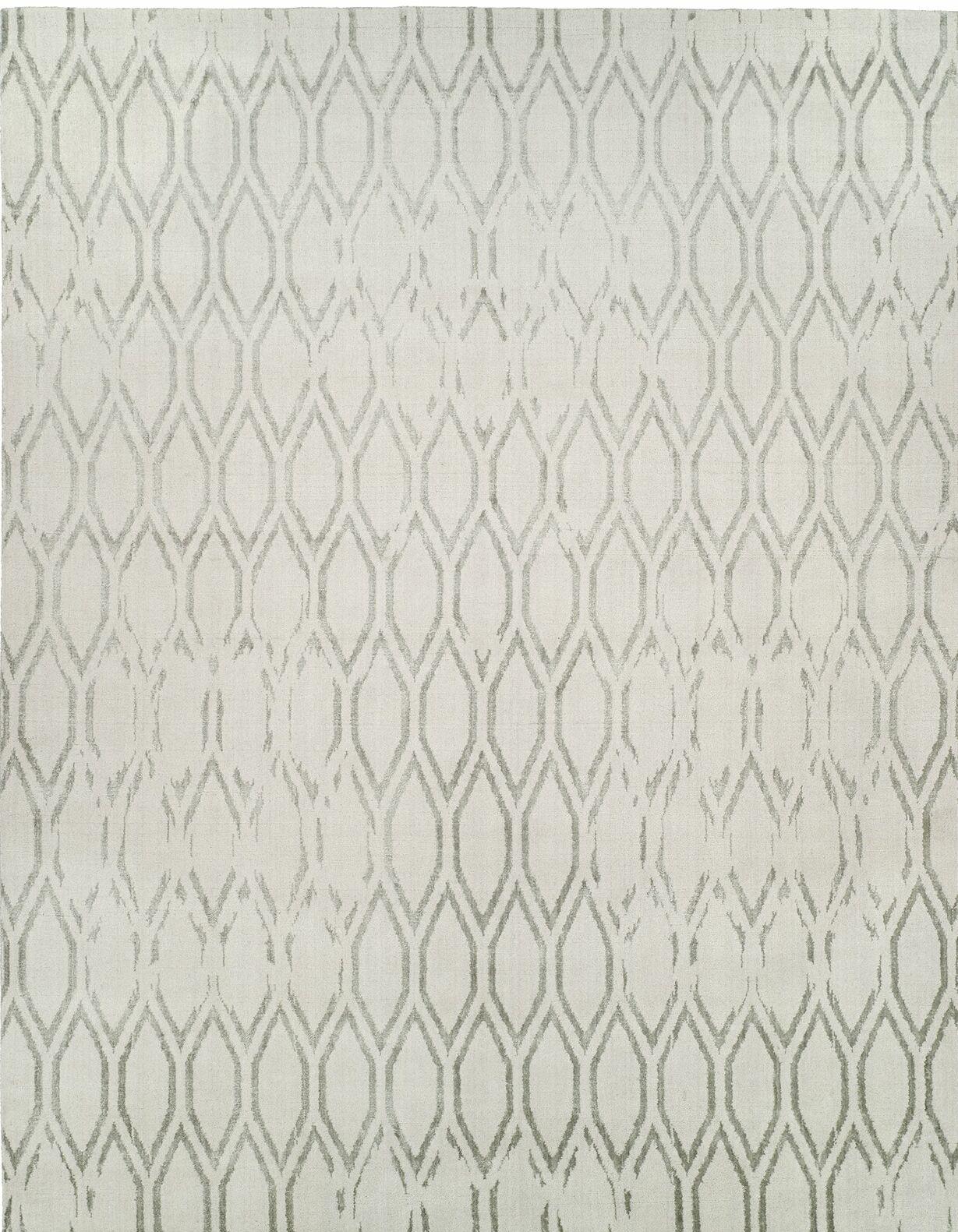Hand-Woven Gray Area Rug Rug Size: 10' x 14'