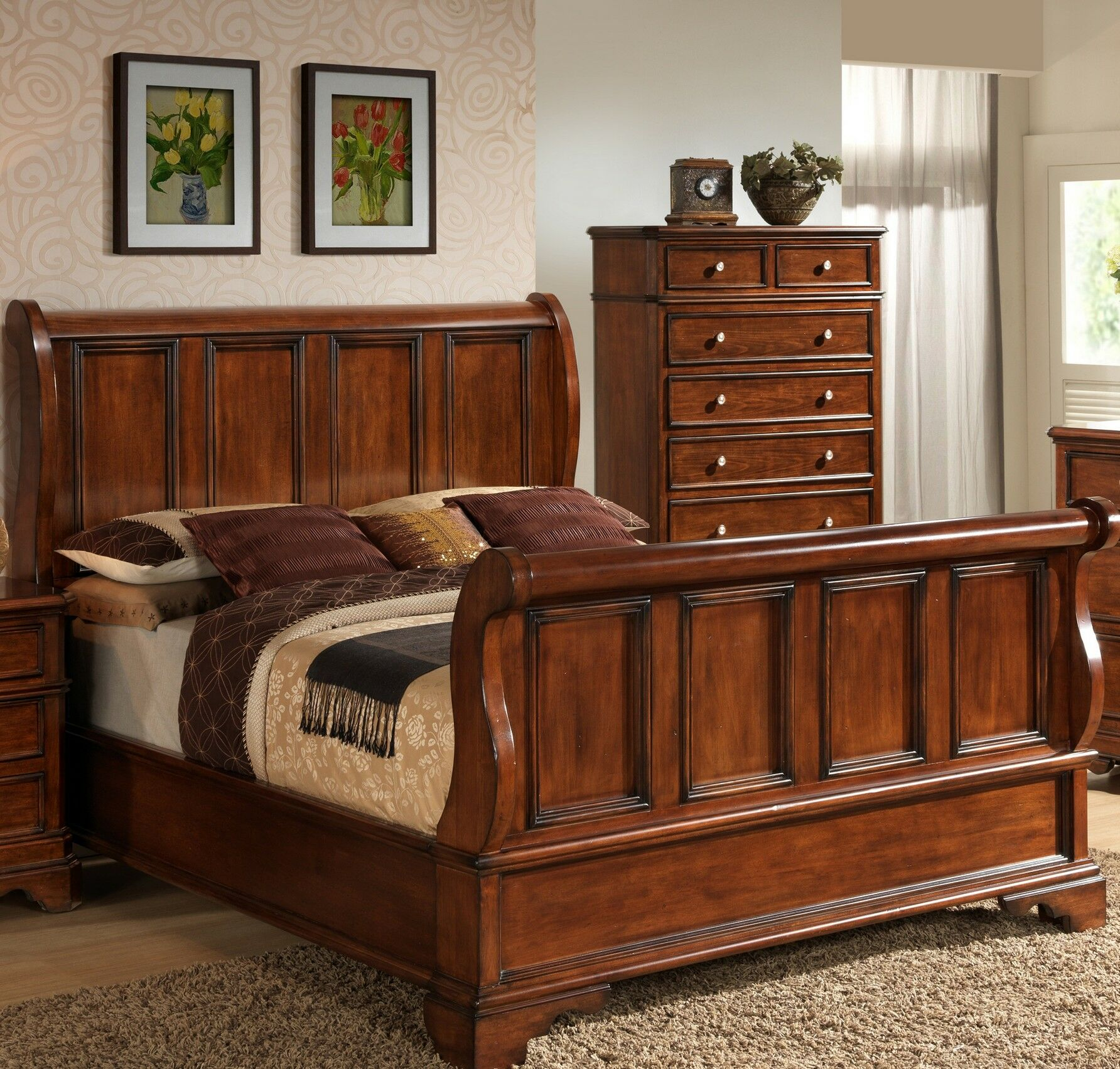 Bayliss Panel Bed Size: King