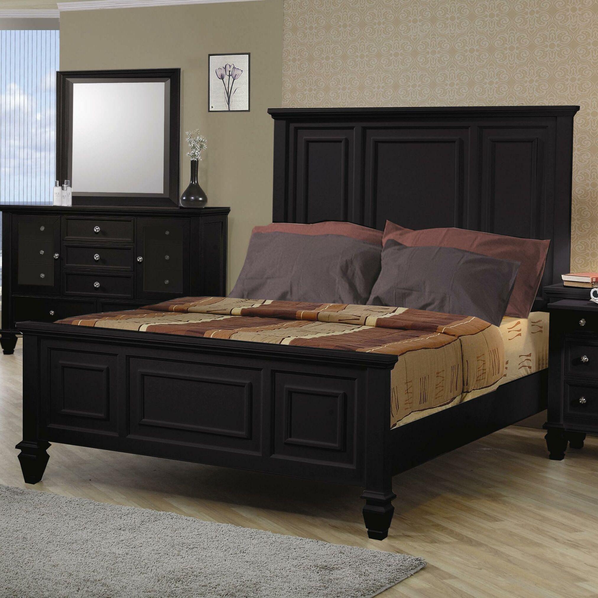 Ellis High Headboard Panel Bed Size: California King