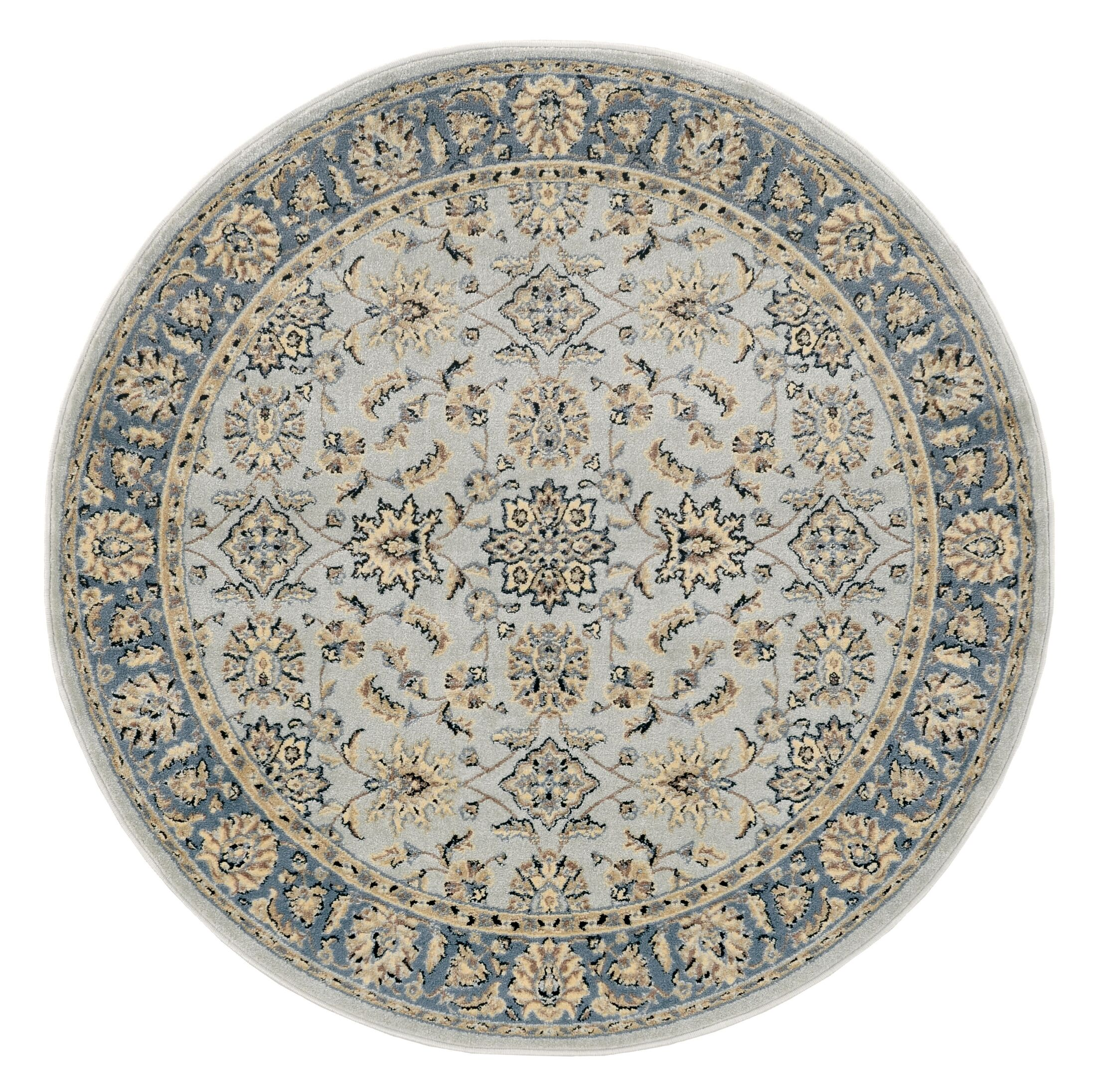 Softmint Green Area Rug Rug Size: Round 5'3