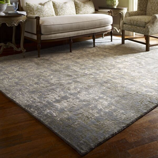 Hand-Woven Green Area Rug Rug Size: 8' x 10'