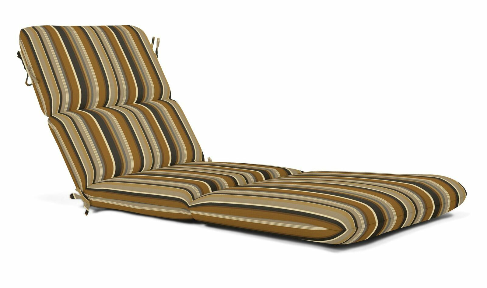 Indoor/Outdoor Chaise Lounge Cushion Fabric: Espresso