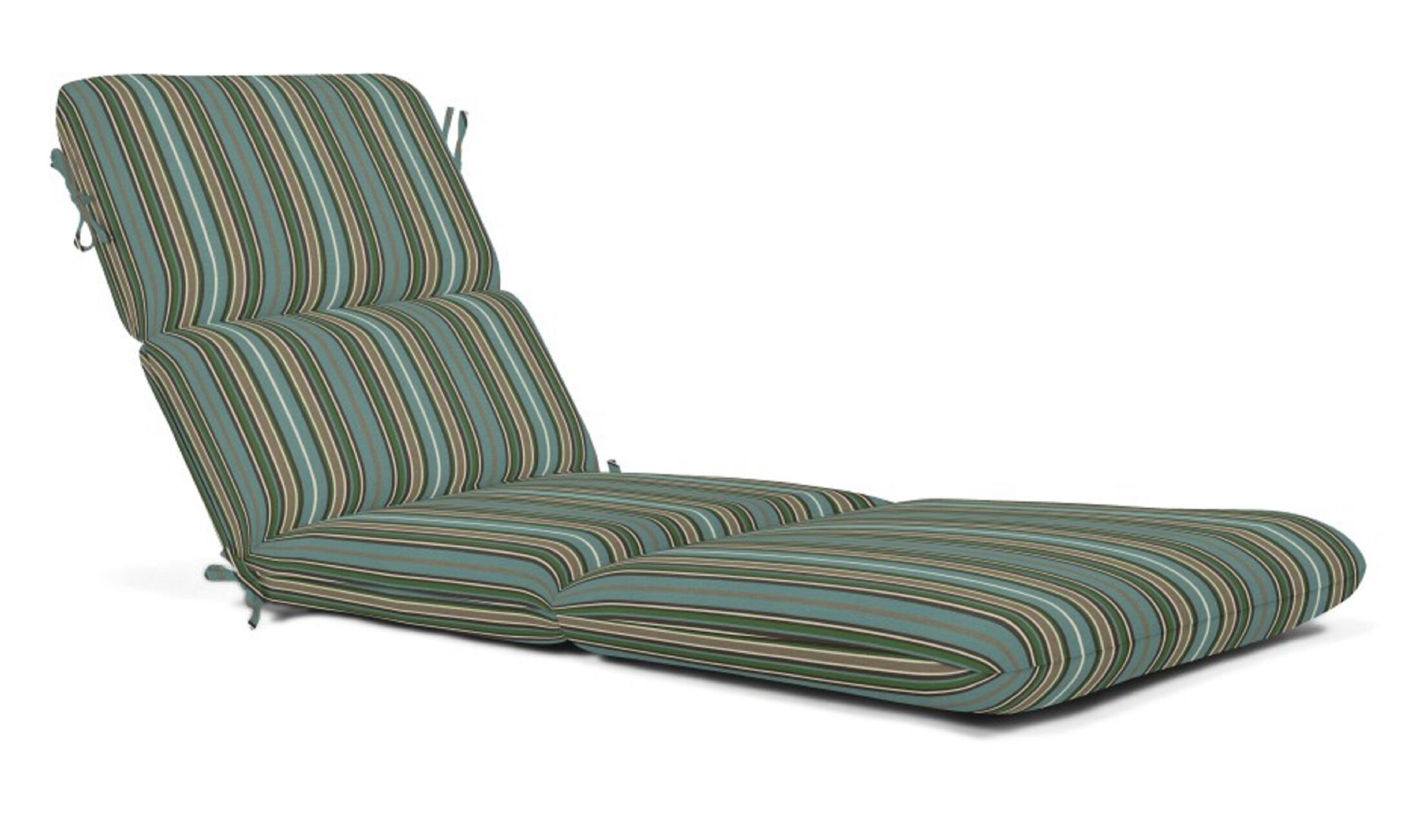 Indoor/Outdoor Chaise Lounge Cushion Fabric: Cilantro