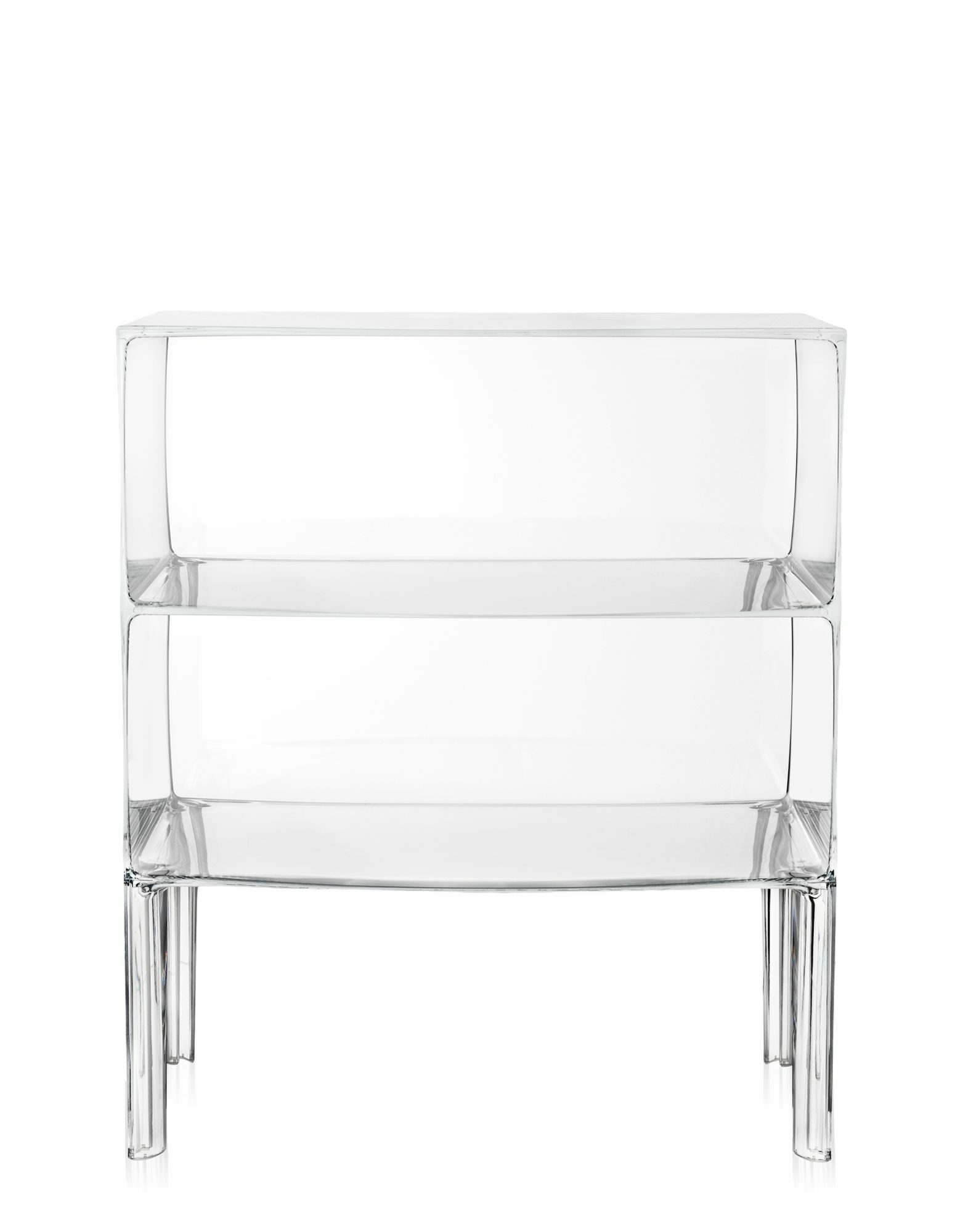 Ghost Buster Console Table Color: Transparent Crystal