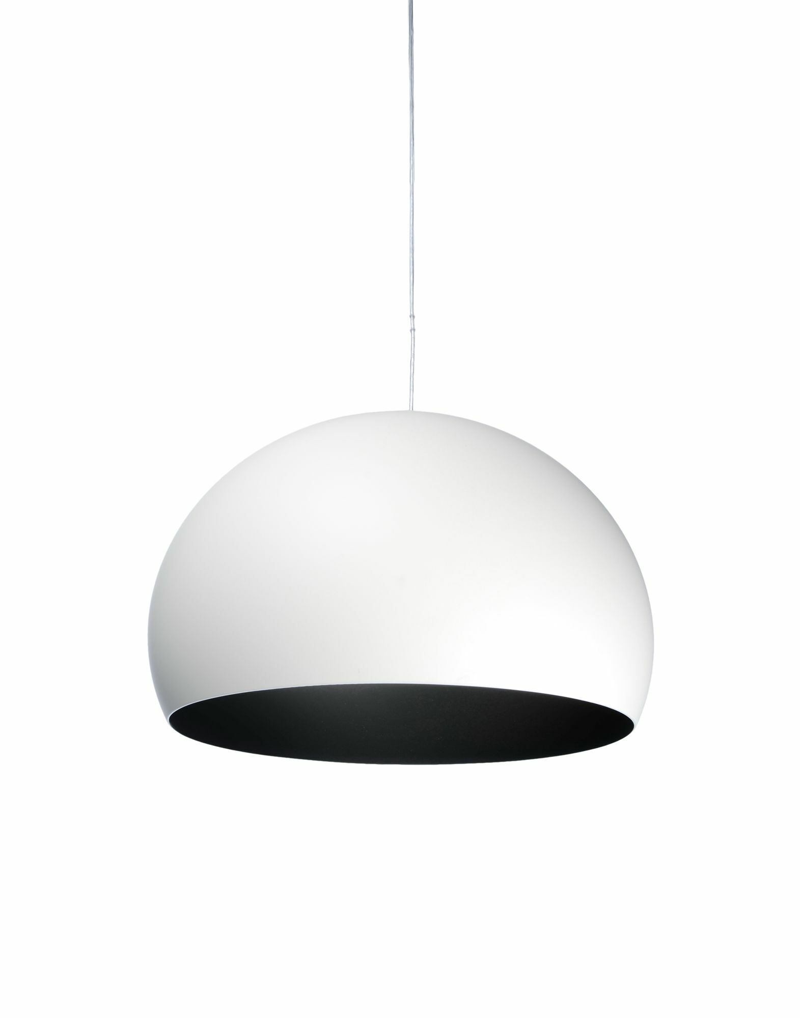 FL/Y M Hanging Lamp Shade Color: White, Size: 21.67