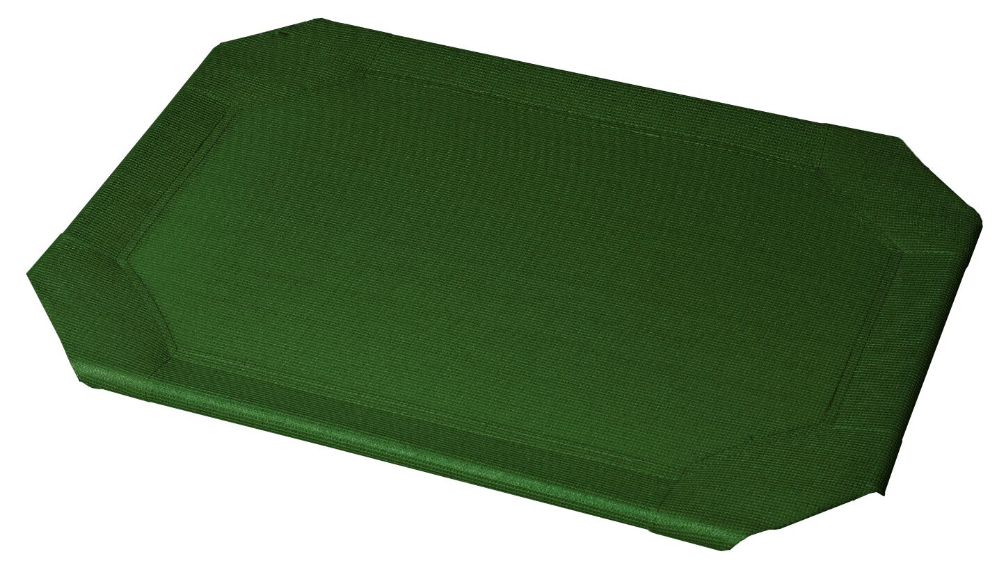 Replacement Pet Bed Covers for Elevated Pet Bed Size: Medium, Color: Heritage Green