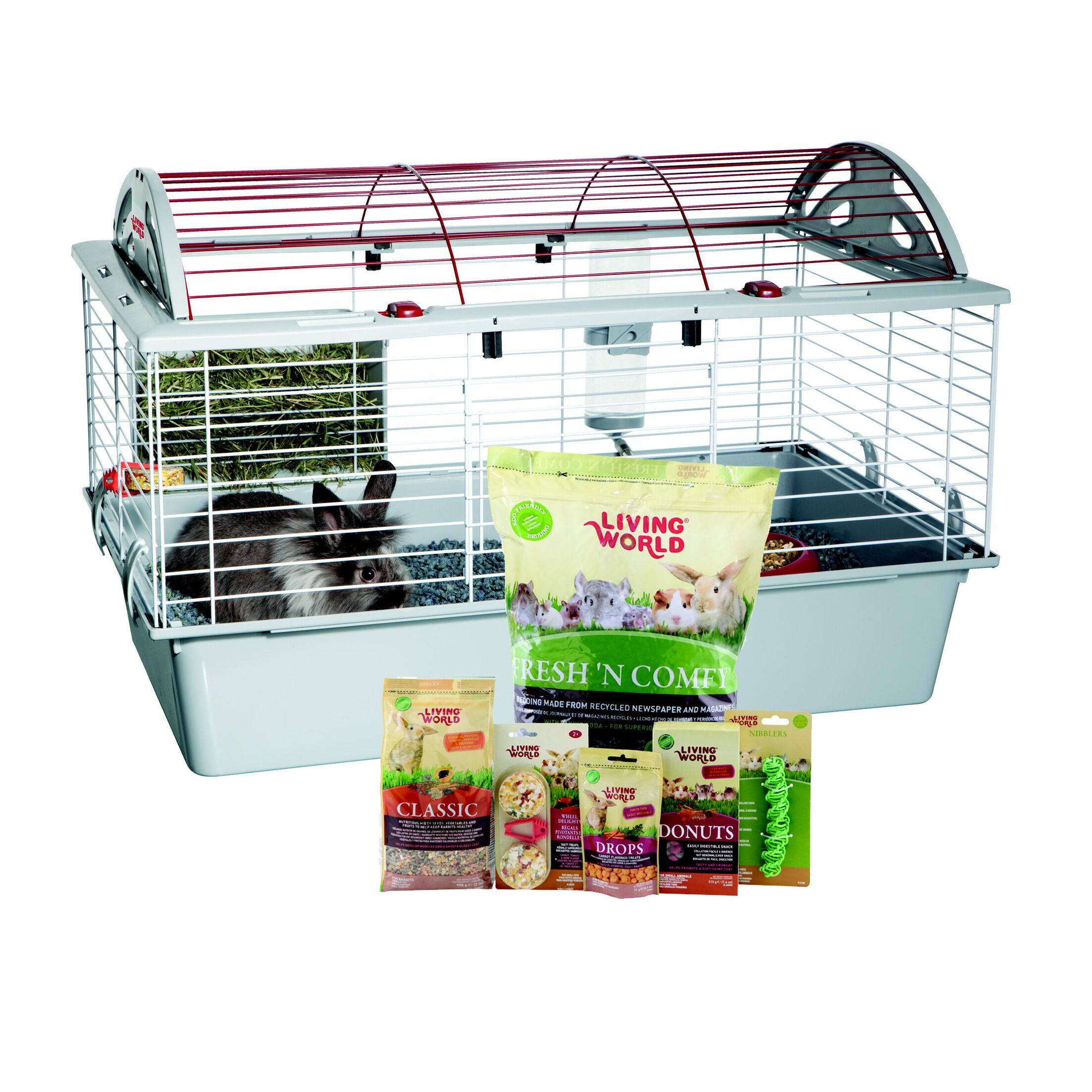 Living World Rabbit Starter Kit