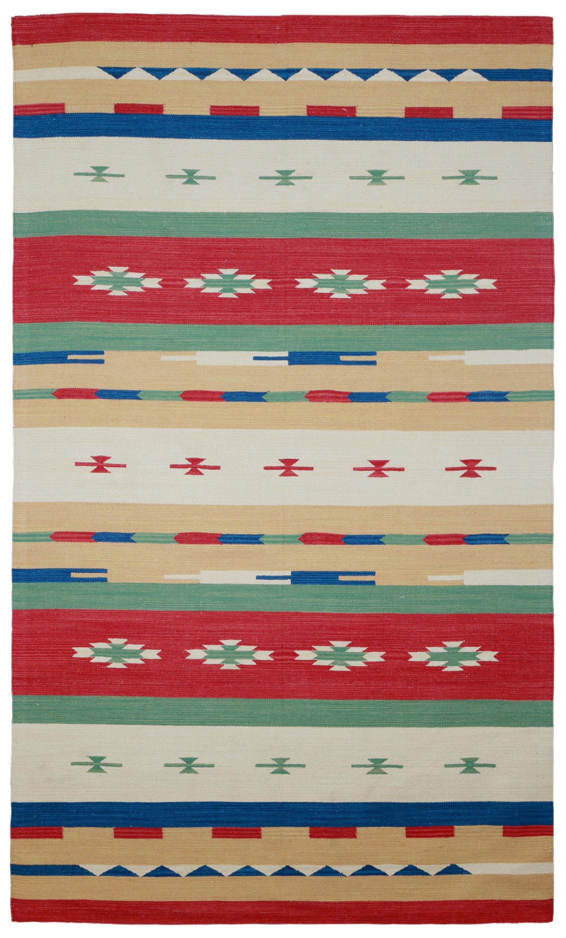Sedona Hand-Woven Red Area Rug Rug Size: 4' x 6'