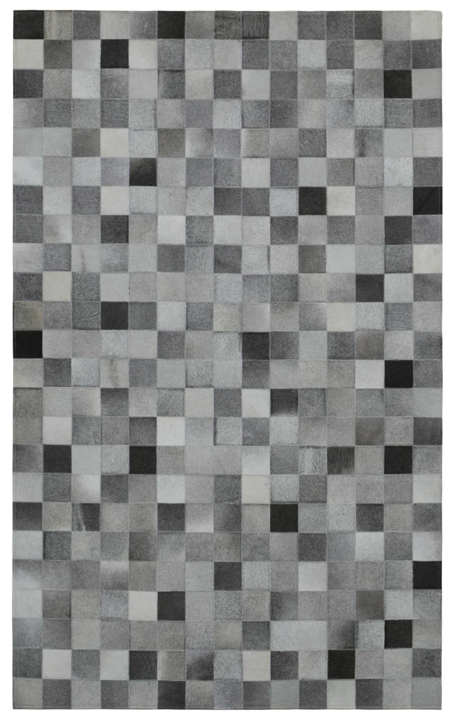 Matador Hand-Woven Gray/Black Area Rug Rug Size: 8' x 10'