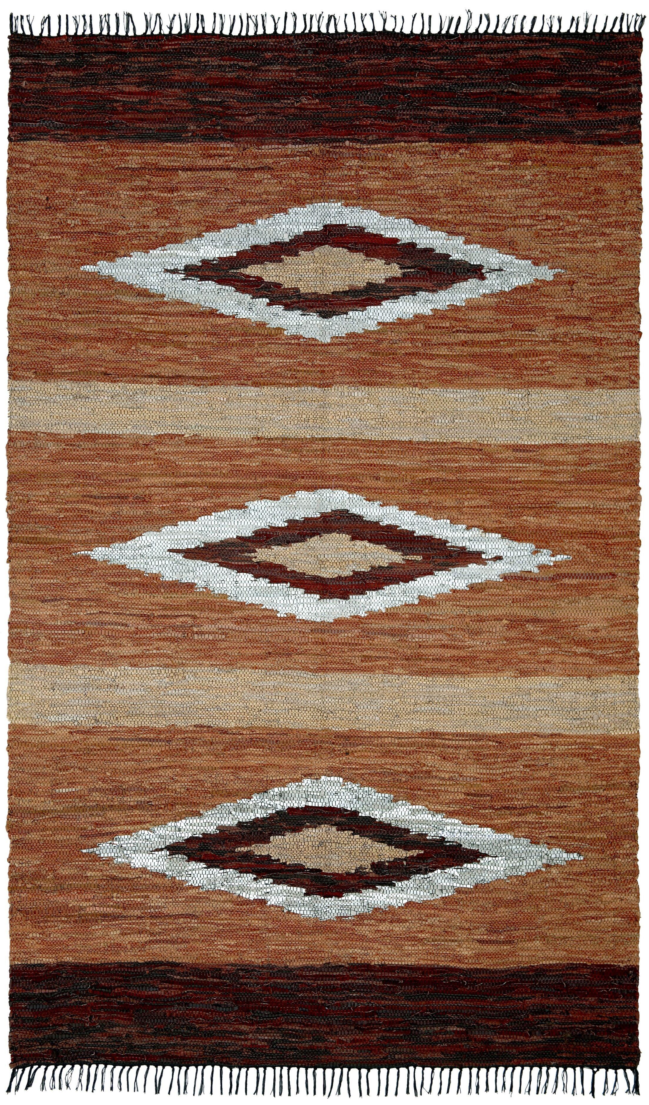 Matador Hand Woven Brown Area Rug Rug Size: 8' x 10'