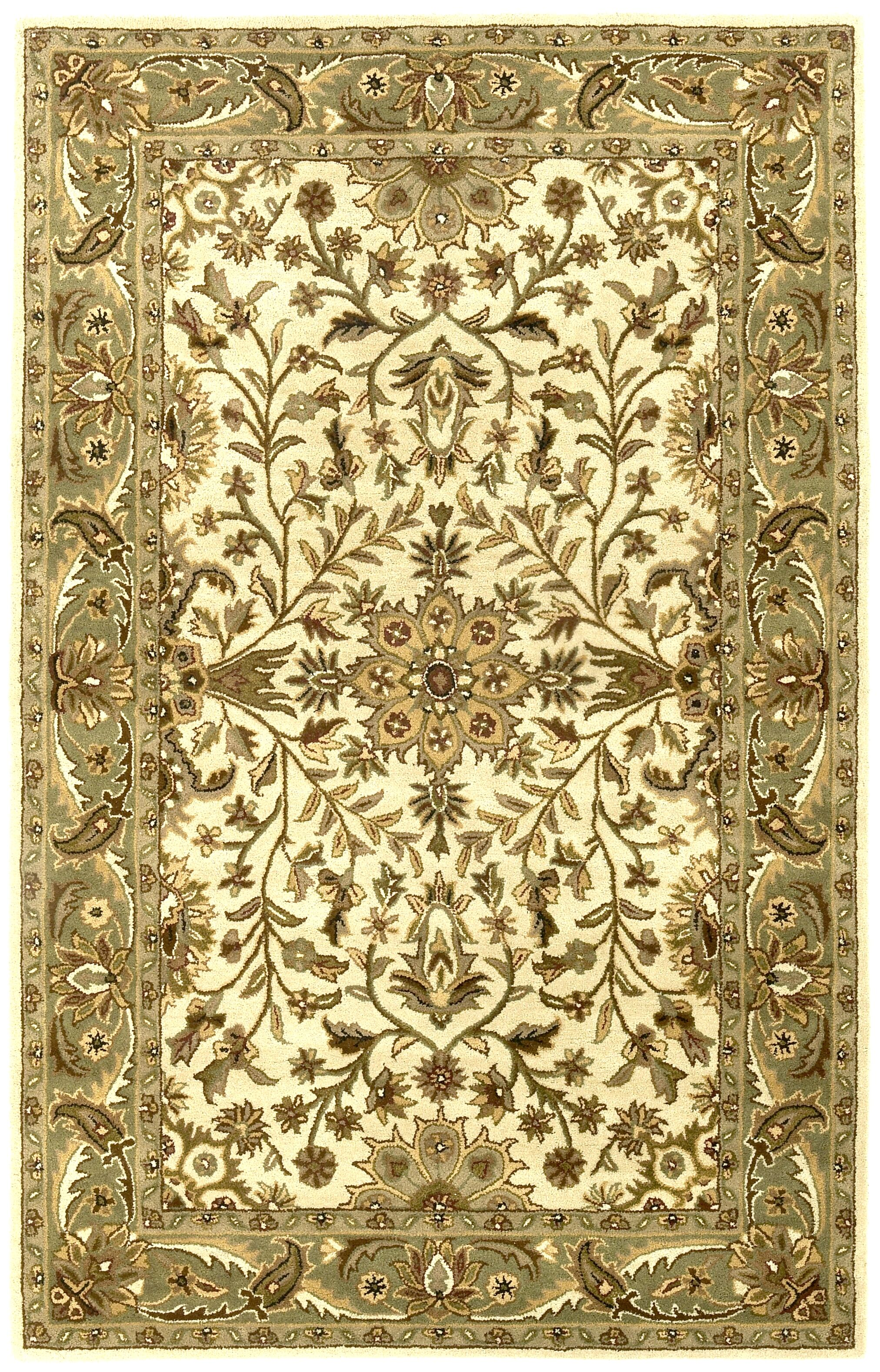 Traditions Regal Sage Rug Rug Size: Rectangle 5' x 8'