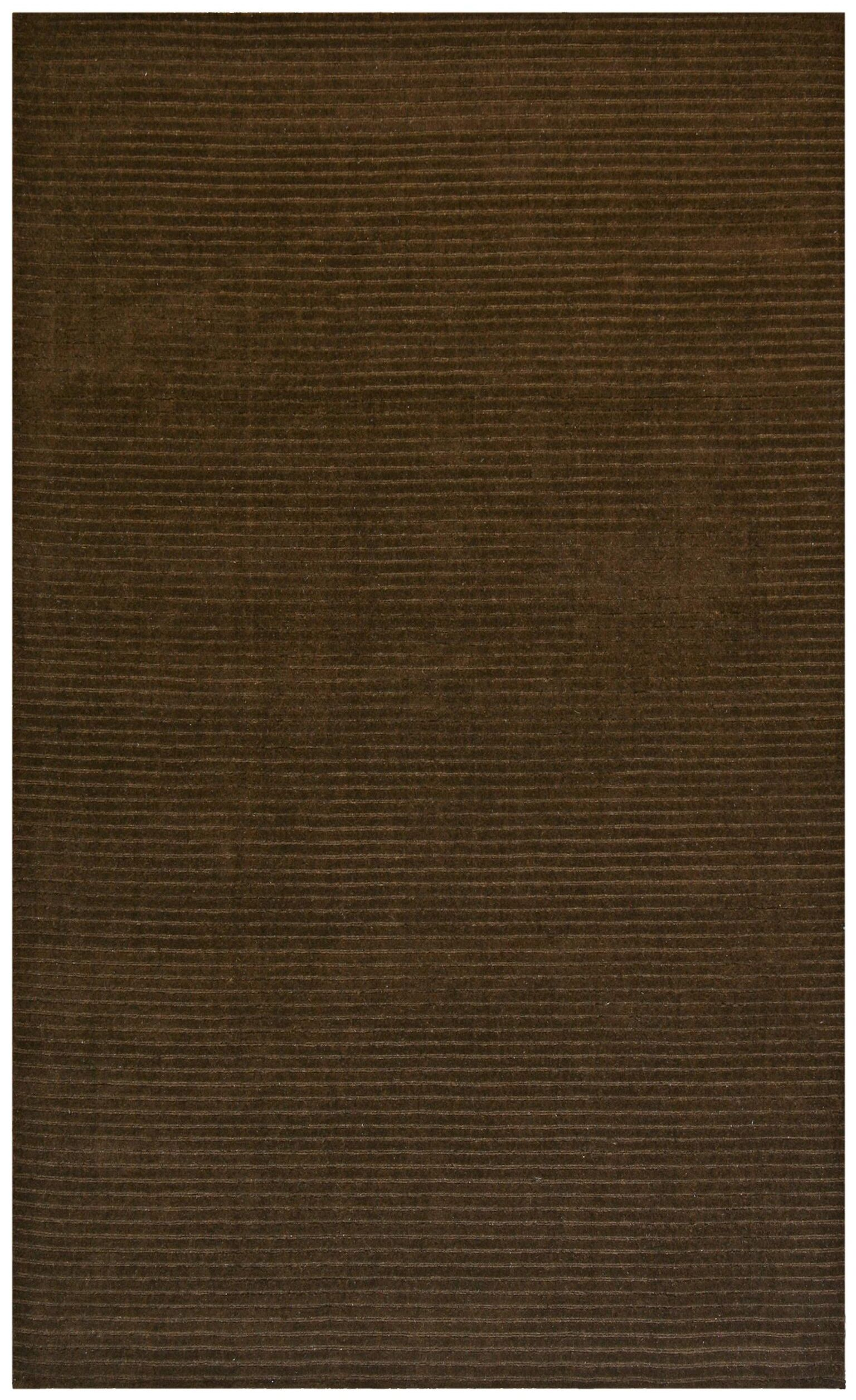 Pulse Brown Rug Rug Size: Rectangle 8' x 10'