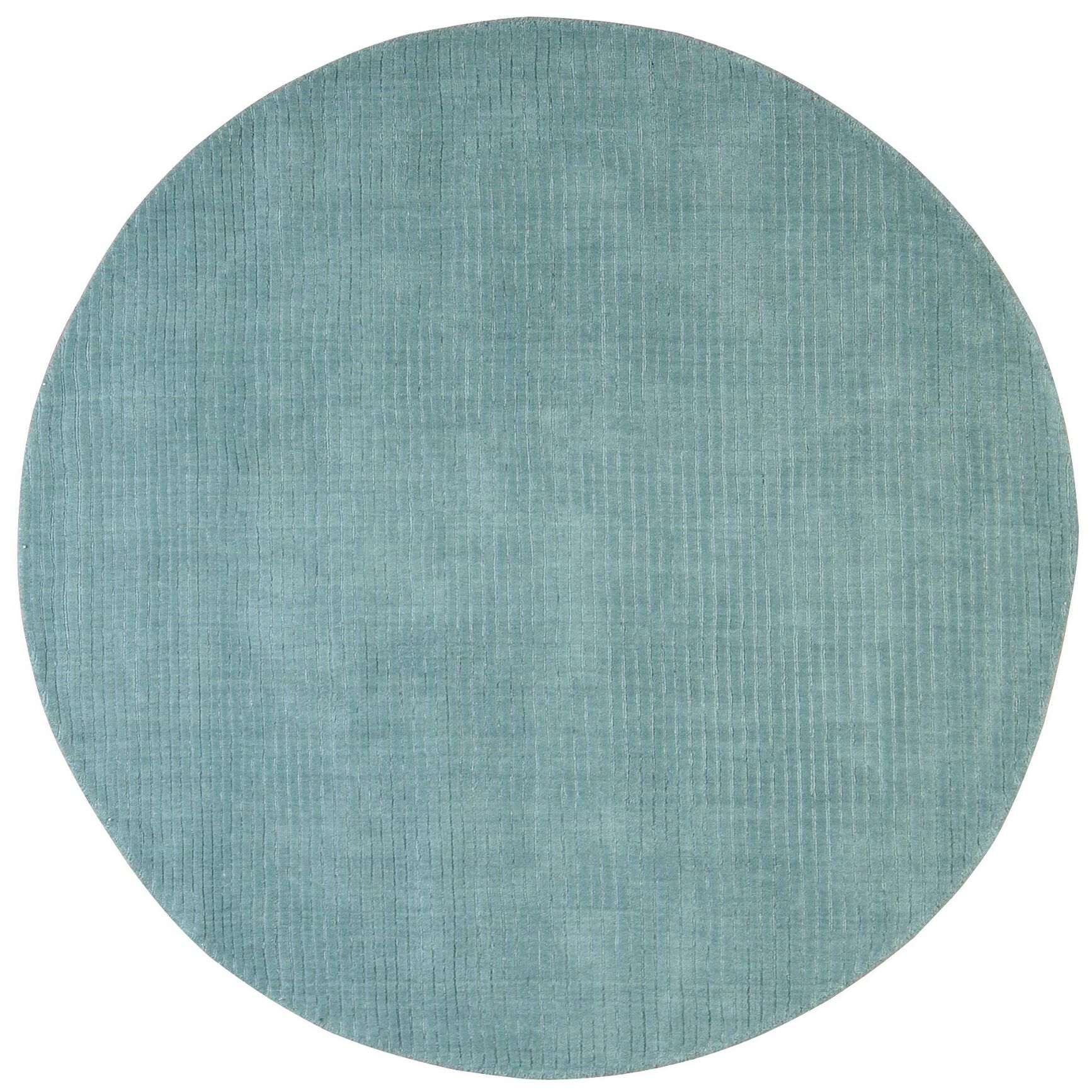 Pulse Aqua Rug Rug Size: Rectangle 8' x 10'