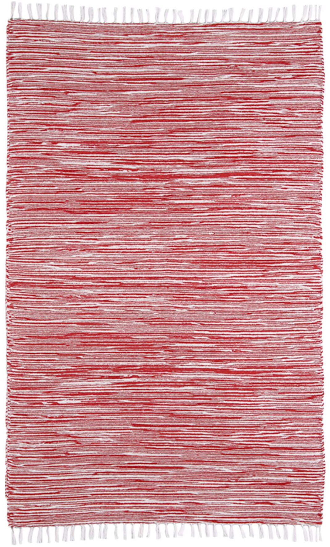 Complex Red Area Rug Rug Size: 8' x 10'