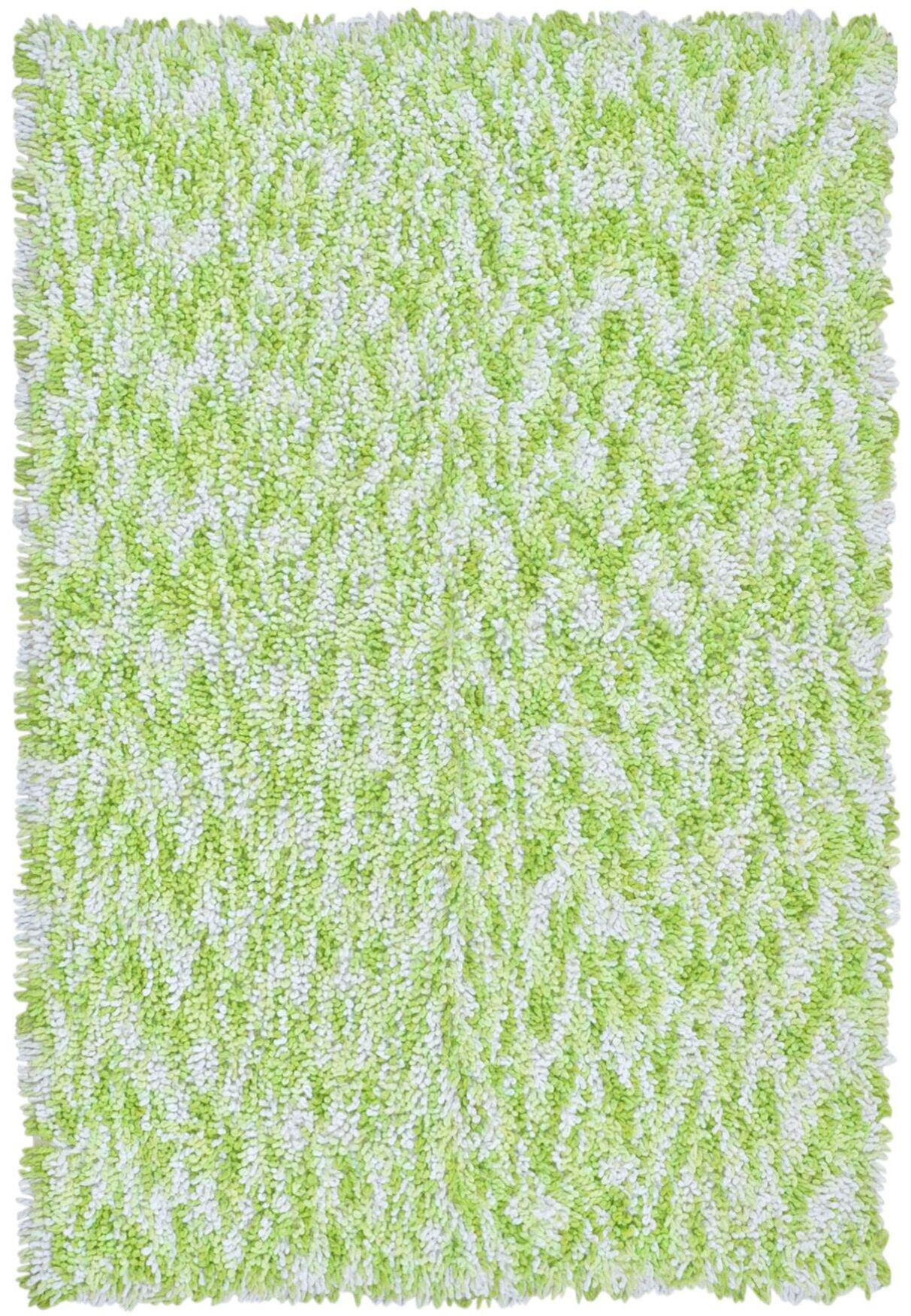 Shagadelic Green Twist Swirl Rug Rug Size: Rectangle 4' x 6'