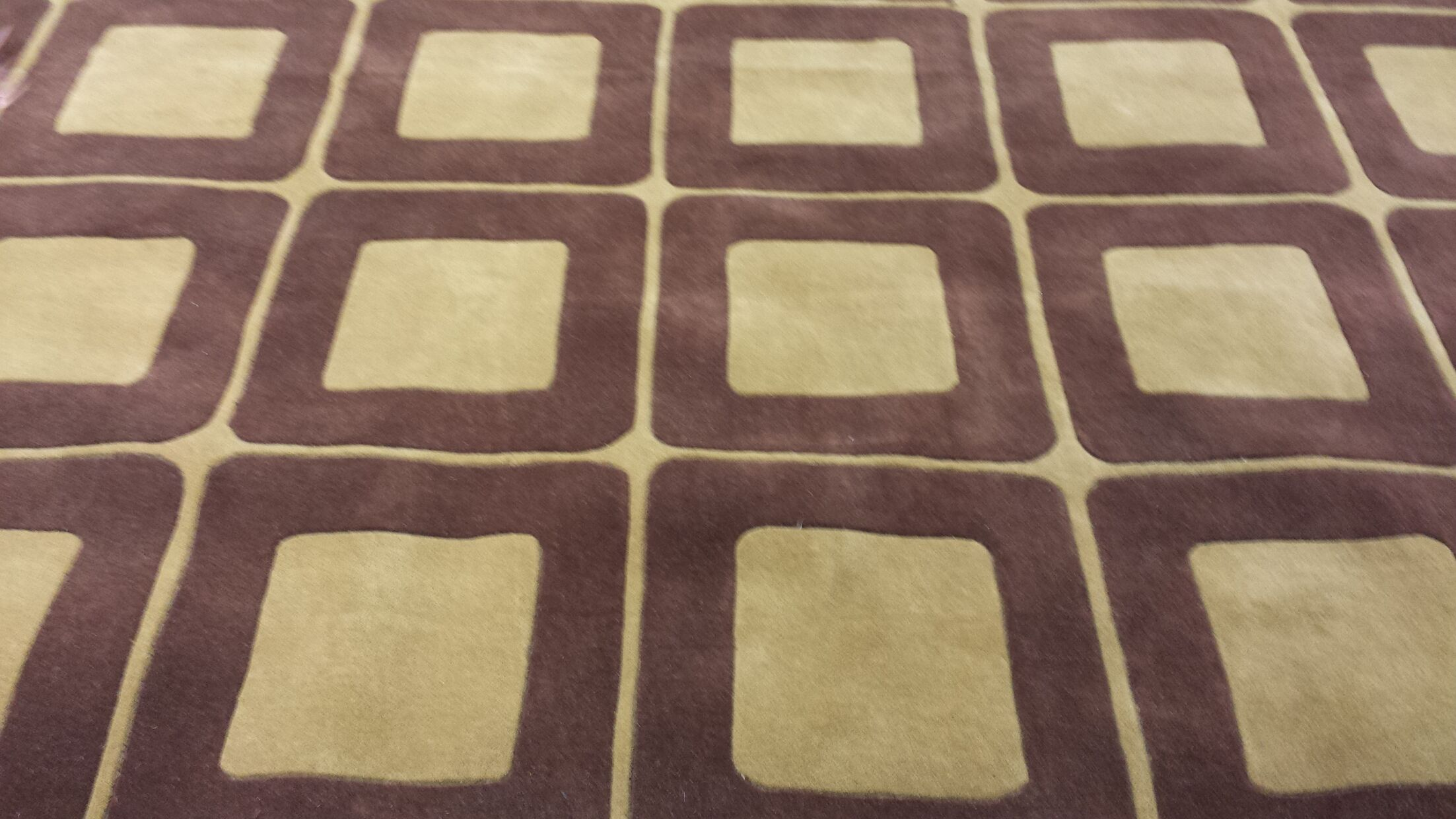 Casual Contemporary Brown / Tan Area Rug Rug Size: Runner 2'6