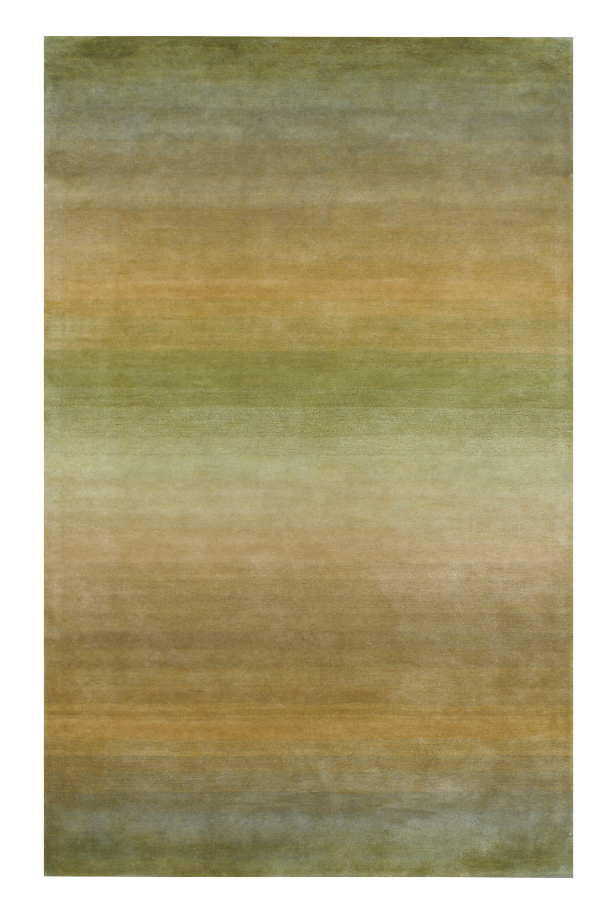 Hand-Tufted Sage Area Rug Rug Size: 2' x 3'