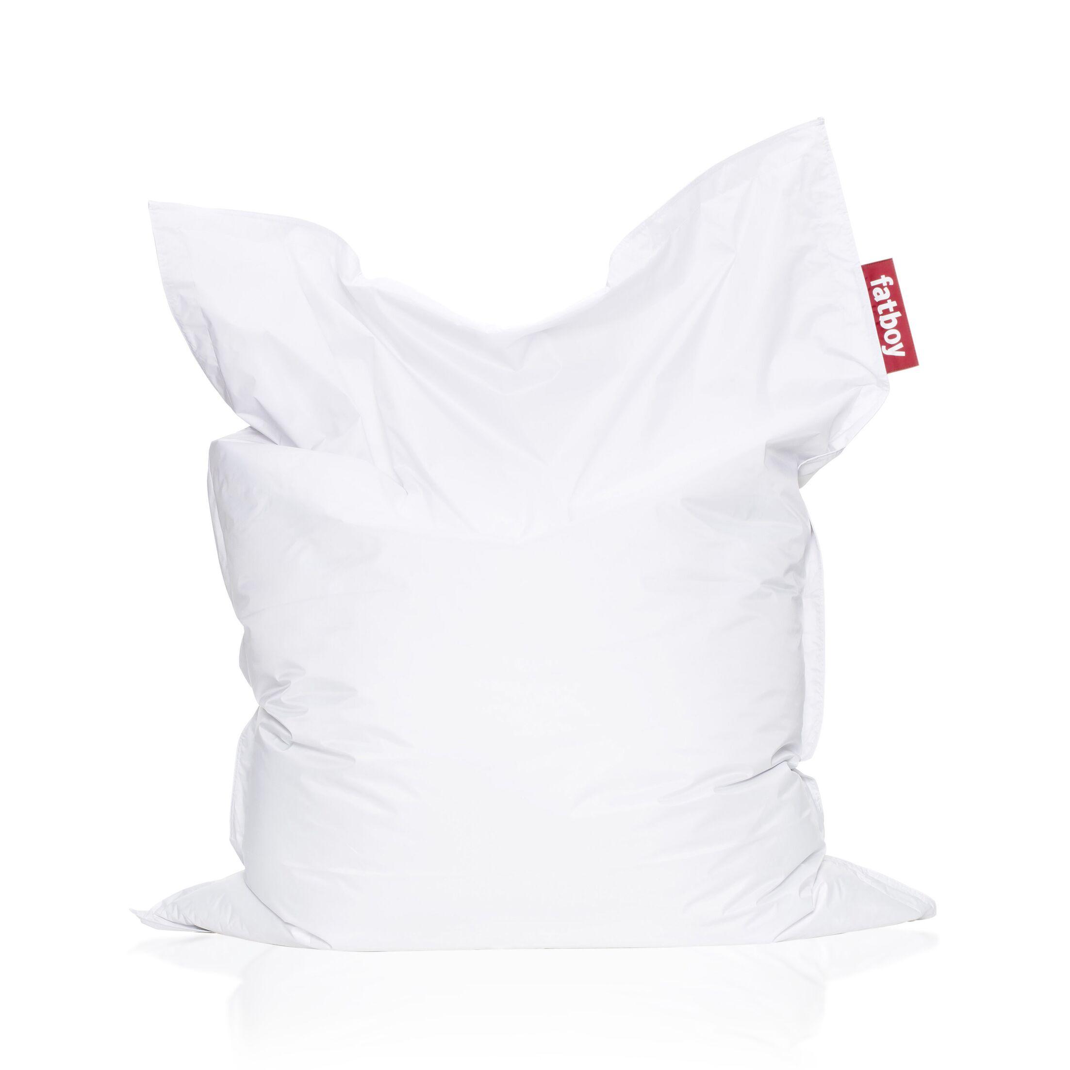 Original Bean Bag Chair Upholstery: White