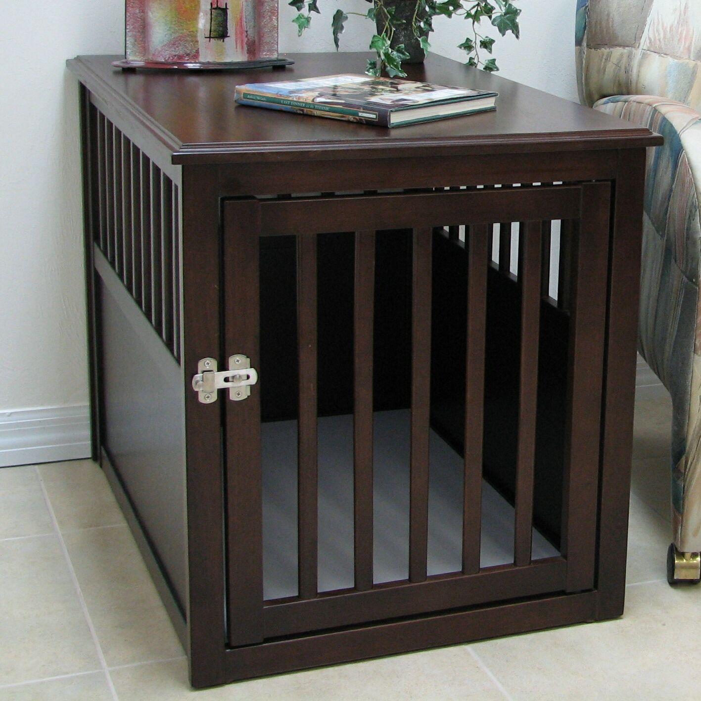Anson Crown Pet Crate Size: Medium (24.42