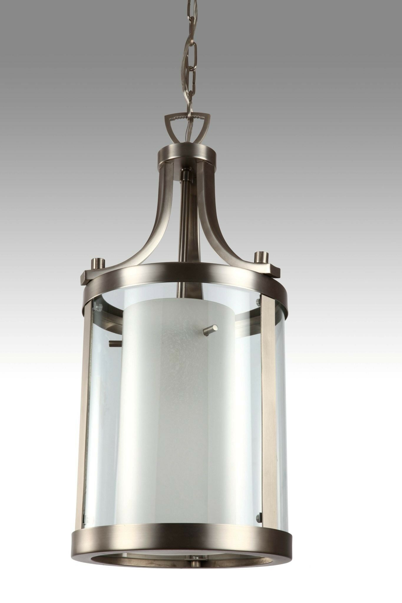 Essex 1-Light Foyer Pendant Finish: Oil Rubbed Bronze, Shade Color: Half Opal