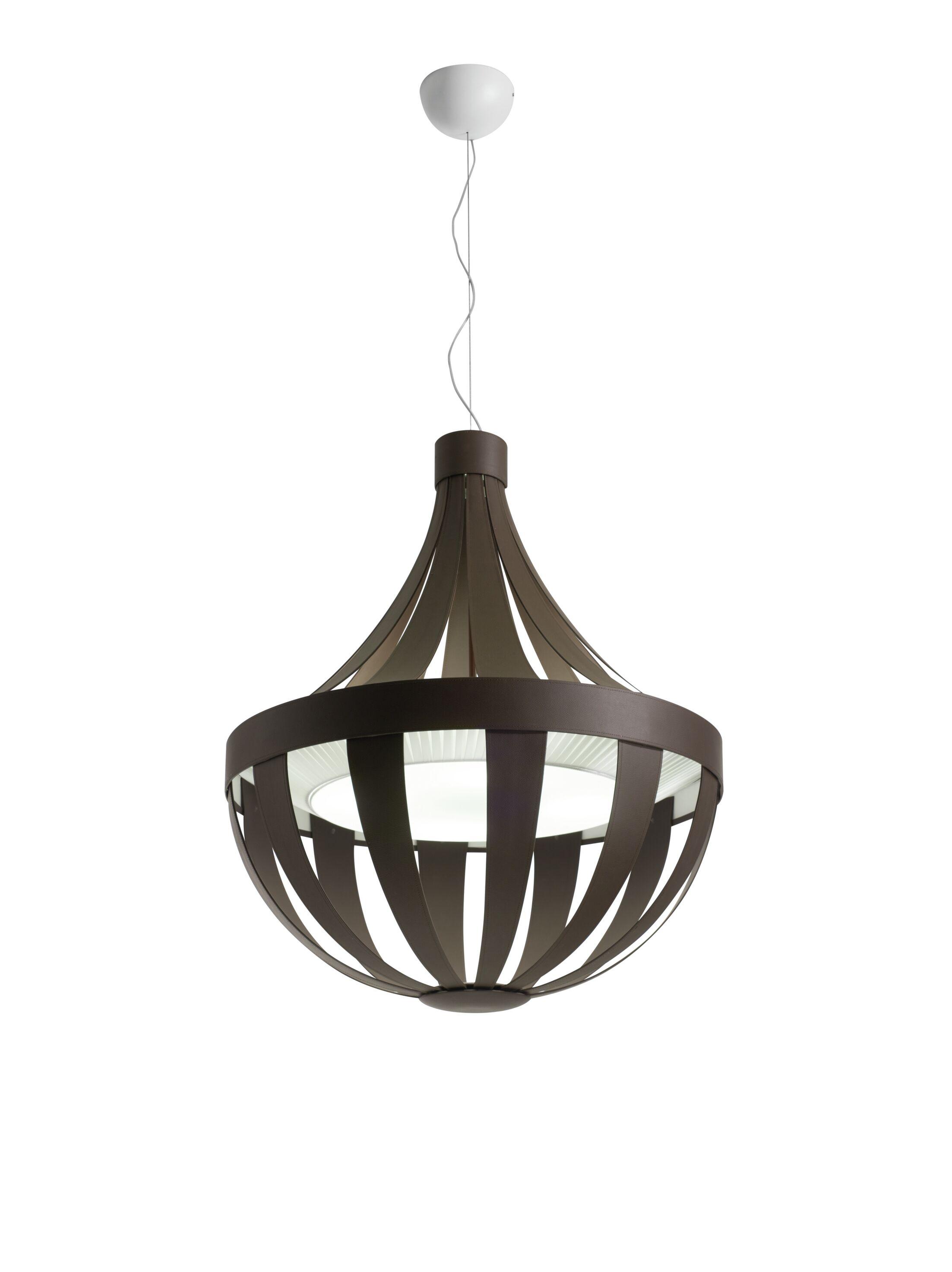 Anadem 4-Light Empire Chandelier Shade Color: Brown, Bulb Type: Incandescent