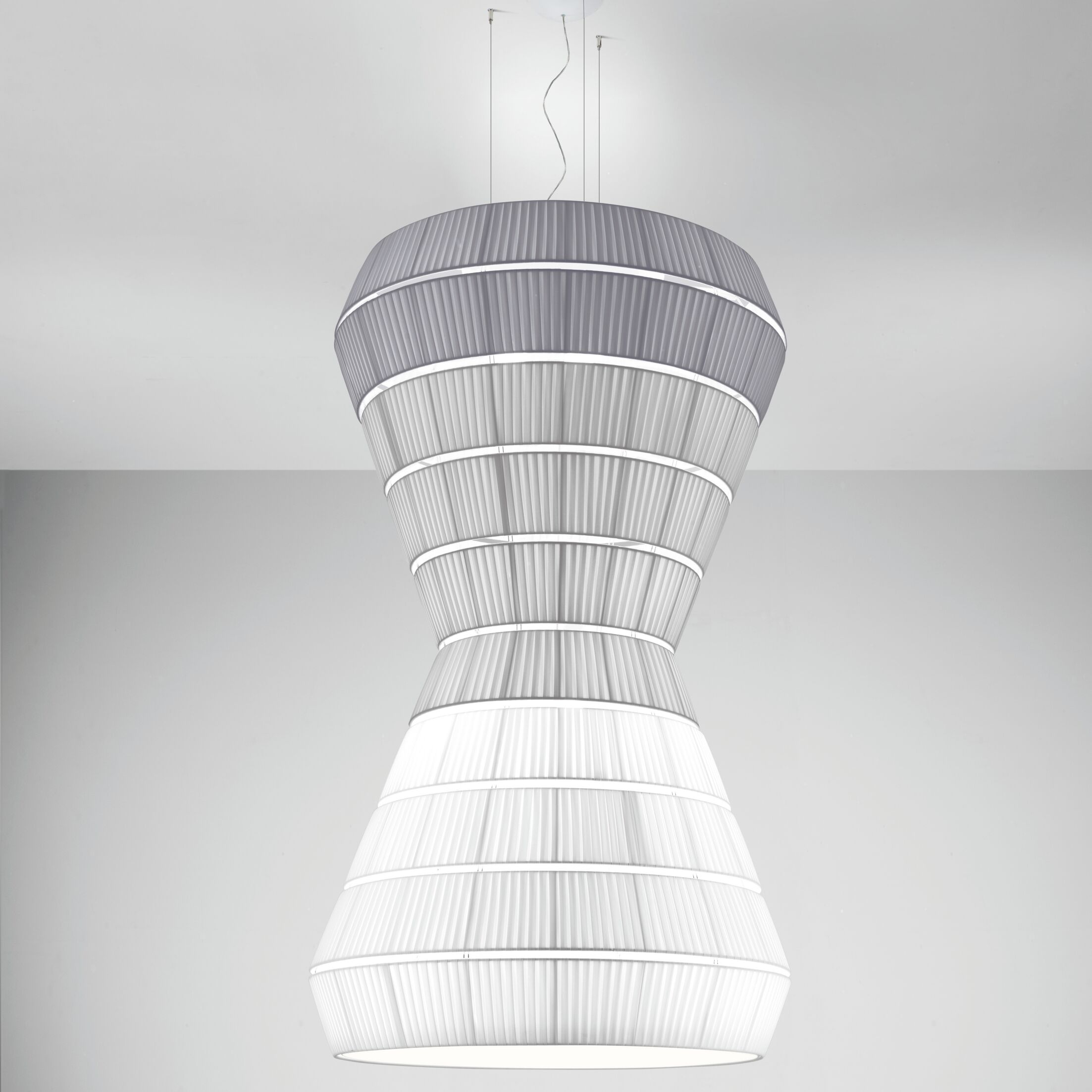 Layer F 9-Light Geometric Chandelier Shade Color: Gold Yellow